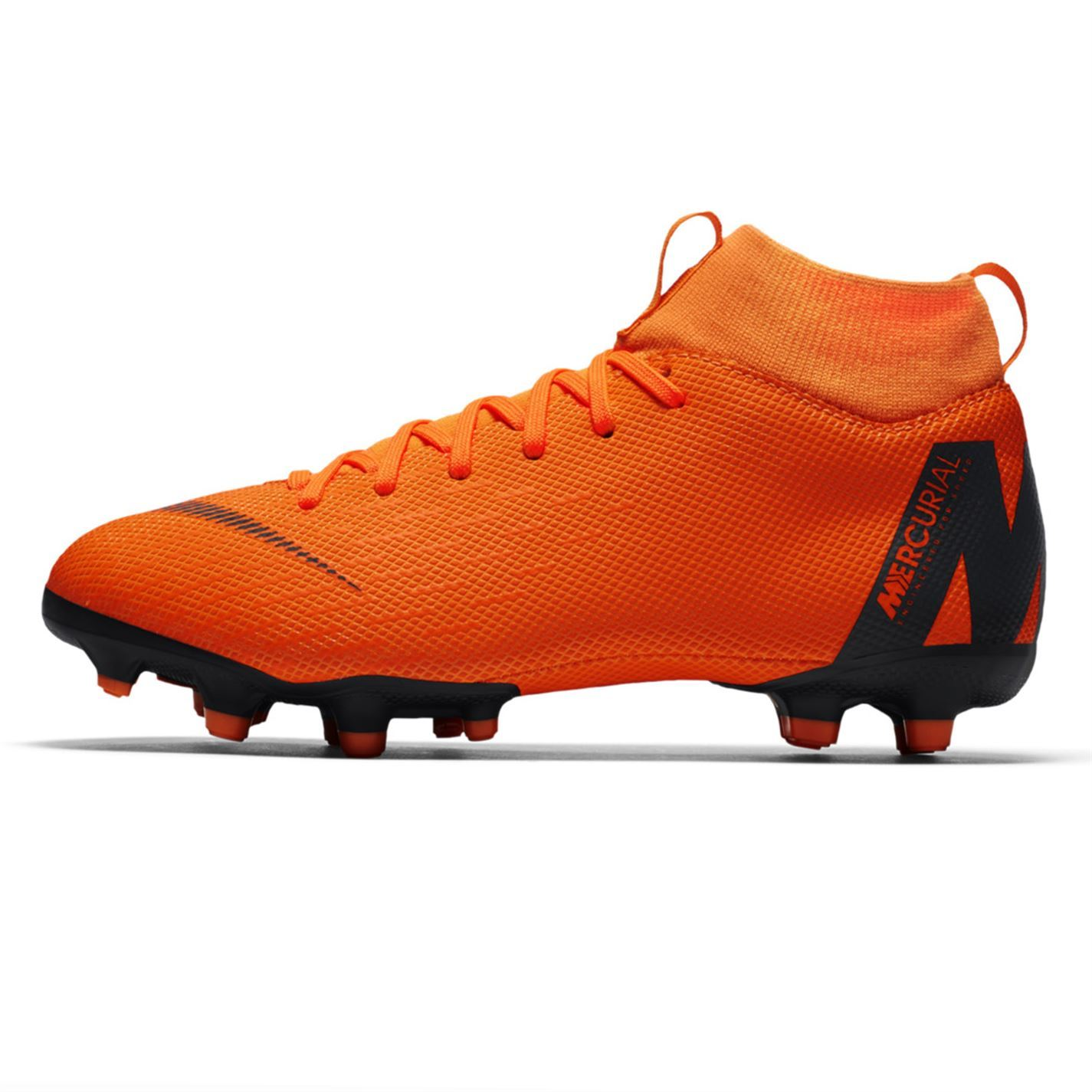 separation shoes 23beb c326d ... Nike Mercurial Superfly Academy FG Football Boots Juniors Orange Soccer  Cleats ...