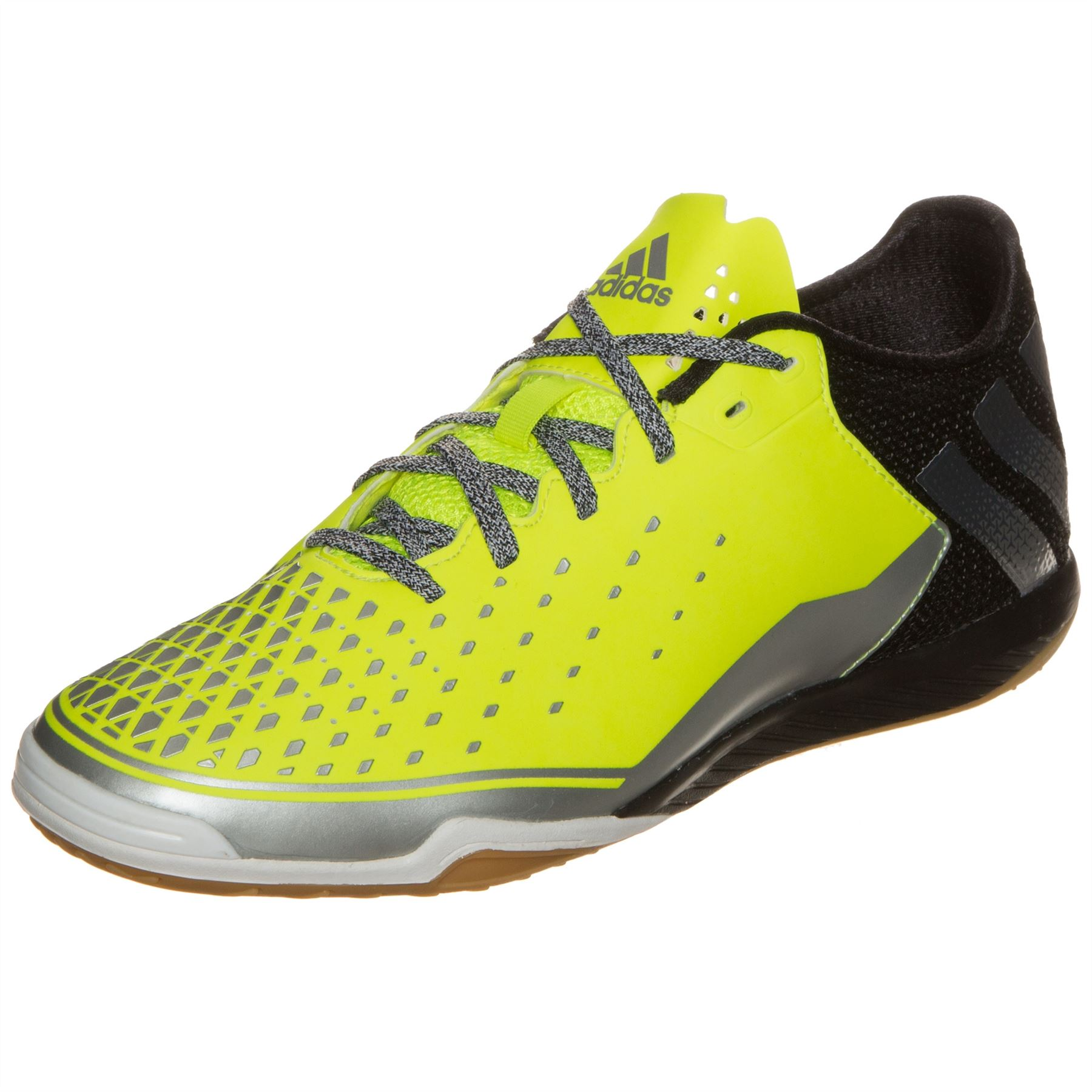 best service 5a1ab 27335 Details about adidas Ace 16.2 Court Indoor Football Shoes Mens Yel/Blk  Futsal Soccer Trainers