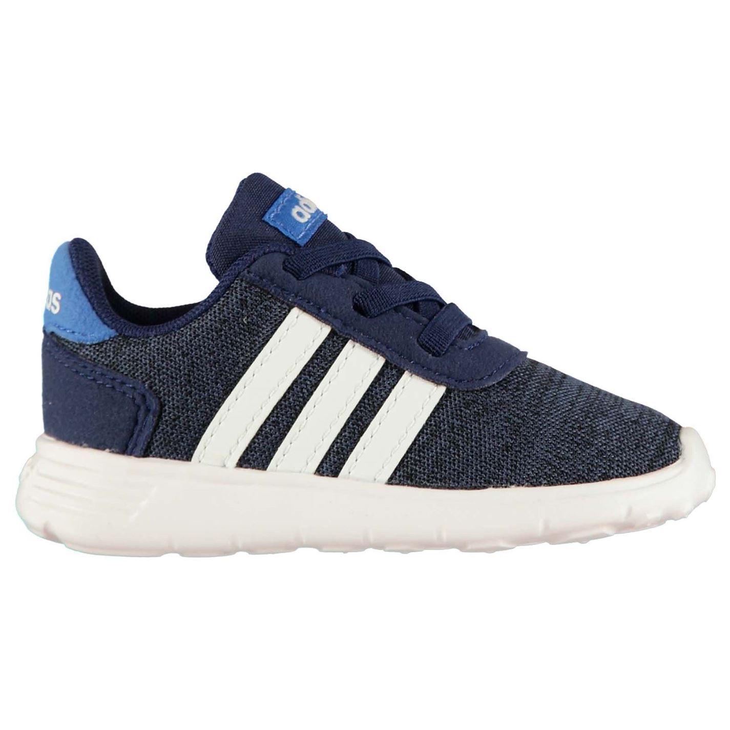 Detalles de Adidas LITE RACER bebés Entrenadores AzulBlancoNegro Zapatos Calzado ver título original