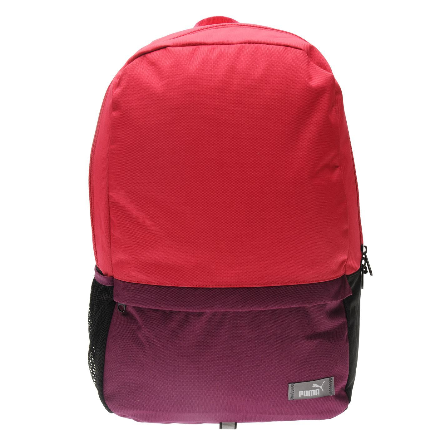 ... Puma Back To School Backpack with Pencil Case Purple School Bag Holdall  Rucksack ... e33e8965be677