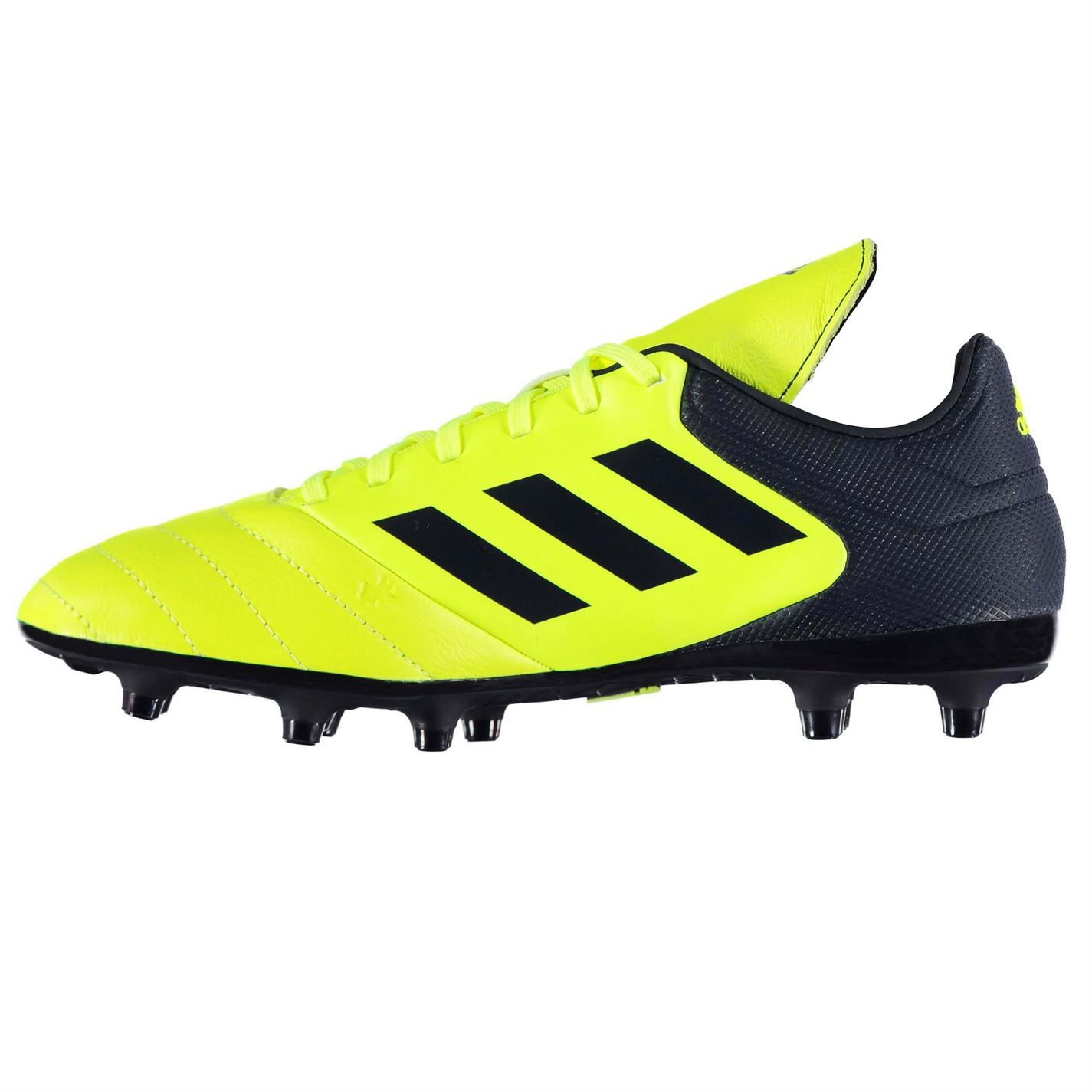 the latest 941e9 2ef05 adidas Copa 17.3 FG Firm Ground Football Boots Mens Yellow Soccer Shoes  Cleats