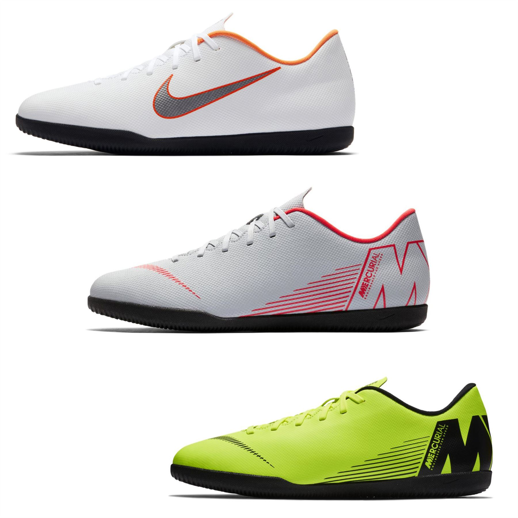 bfd02d66e9c Details about Nike Mercurial Vapor Club Indoor Football Trainers Mens  Soccer Futsal Shoes