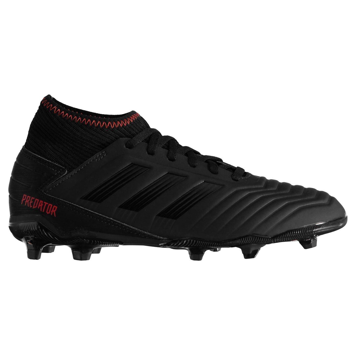 Adidas-Predator-Junior-19-3-FG-Firm-Ground-football-boots-Boys-Football-Chaussures miniature 4