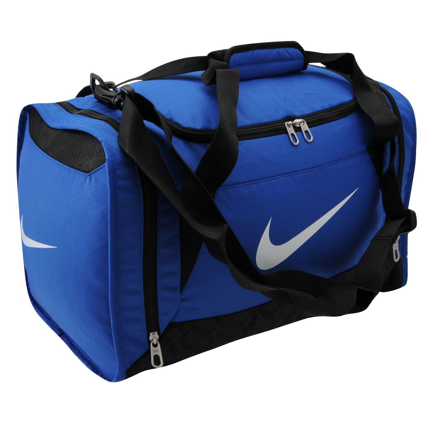 Nike Brasilia Small Grip Bag Royal Gym Sports Genuine