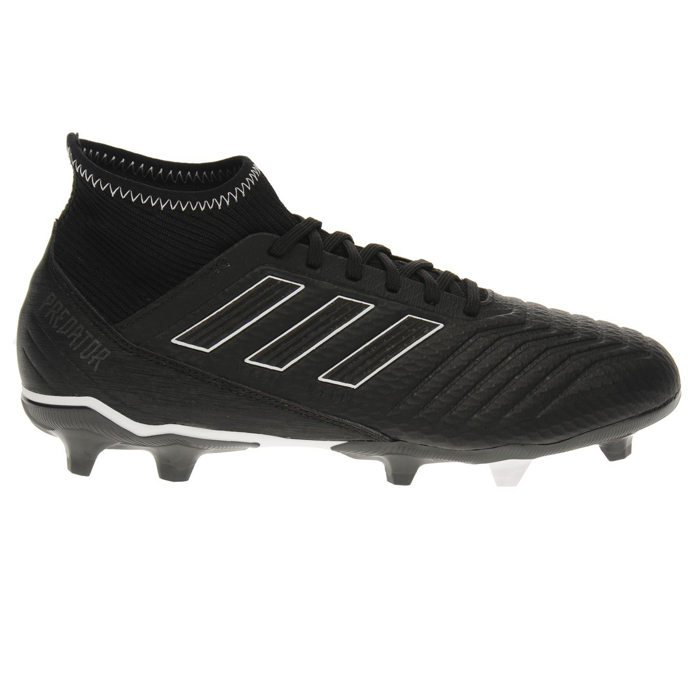 ce2781a1988faf adidas Predator 18.3 FG Firm Ground Football Boots Mens Black Soccer Shoe  Cleats