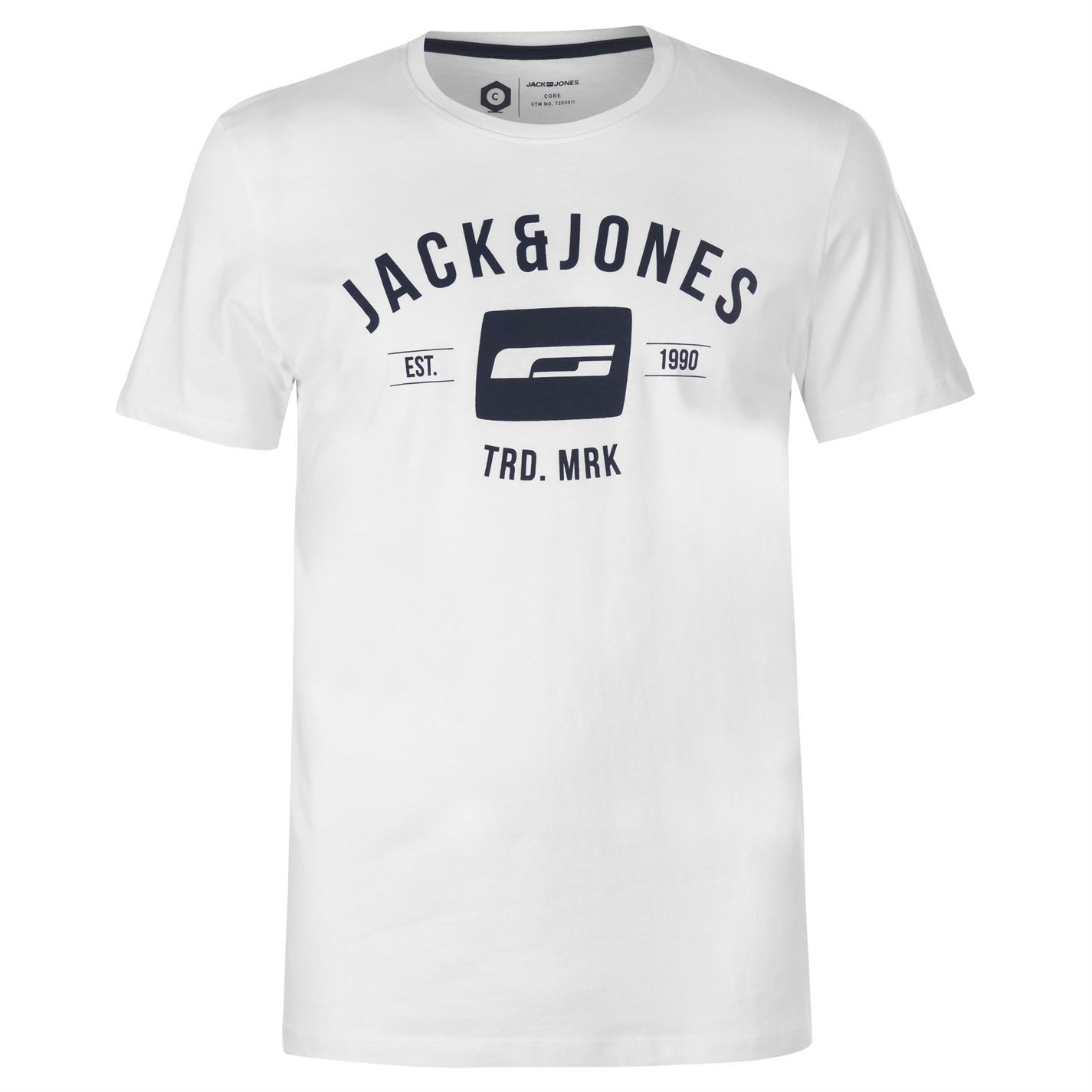 Jack-and-Jones-Core-Corporate-T-Shirt-Mens-Tee-Shirt-Top thumbnail 14