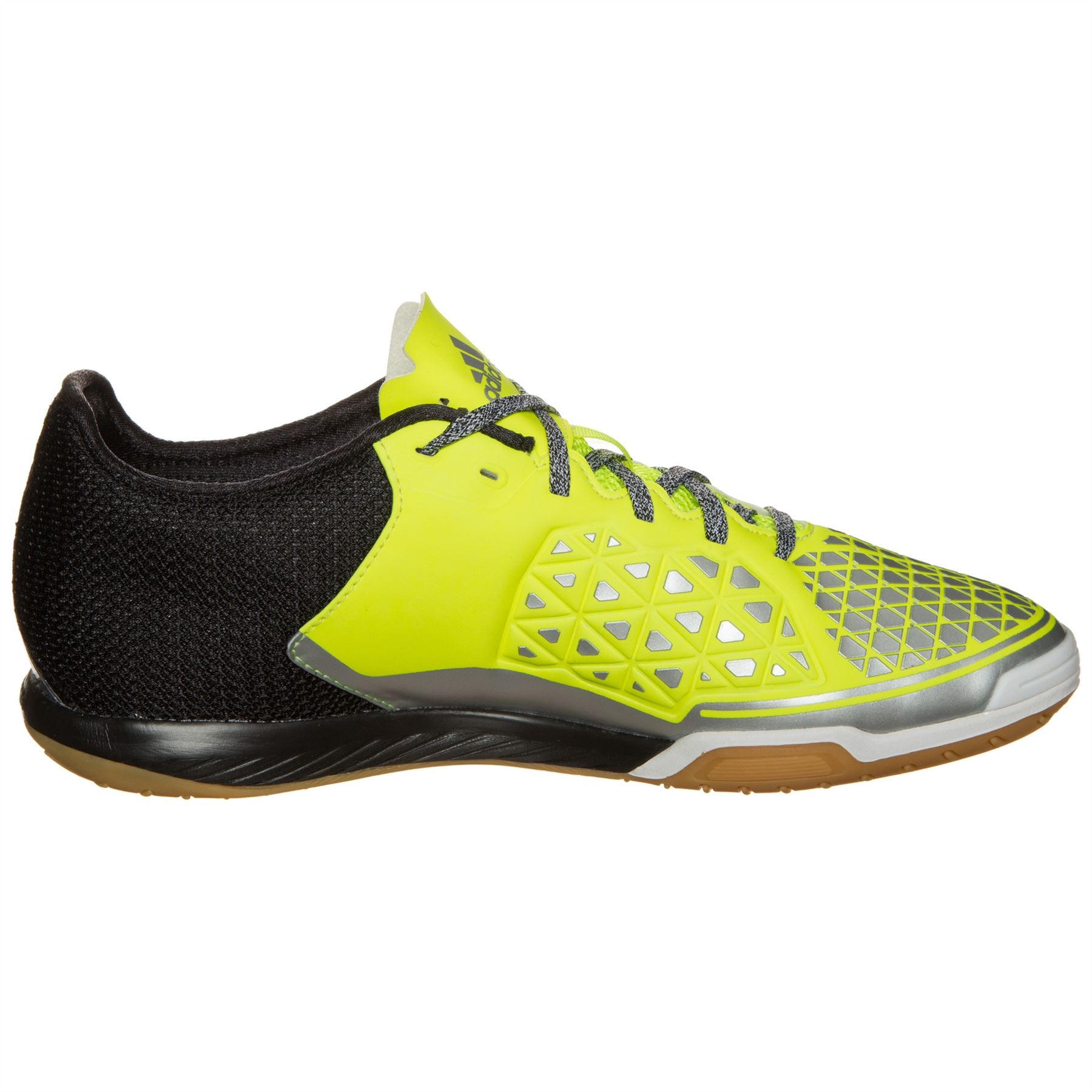 aee135cfd7b9 ... adidas Ace 16.2 Court Indoor Football Shoes Mens Yel Blk Futsal Soccer  Trainers ...