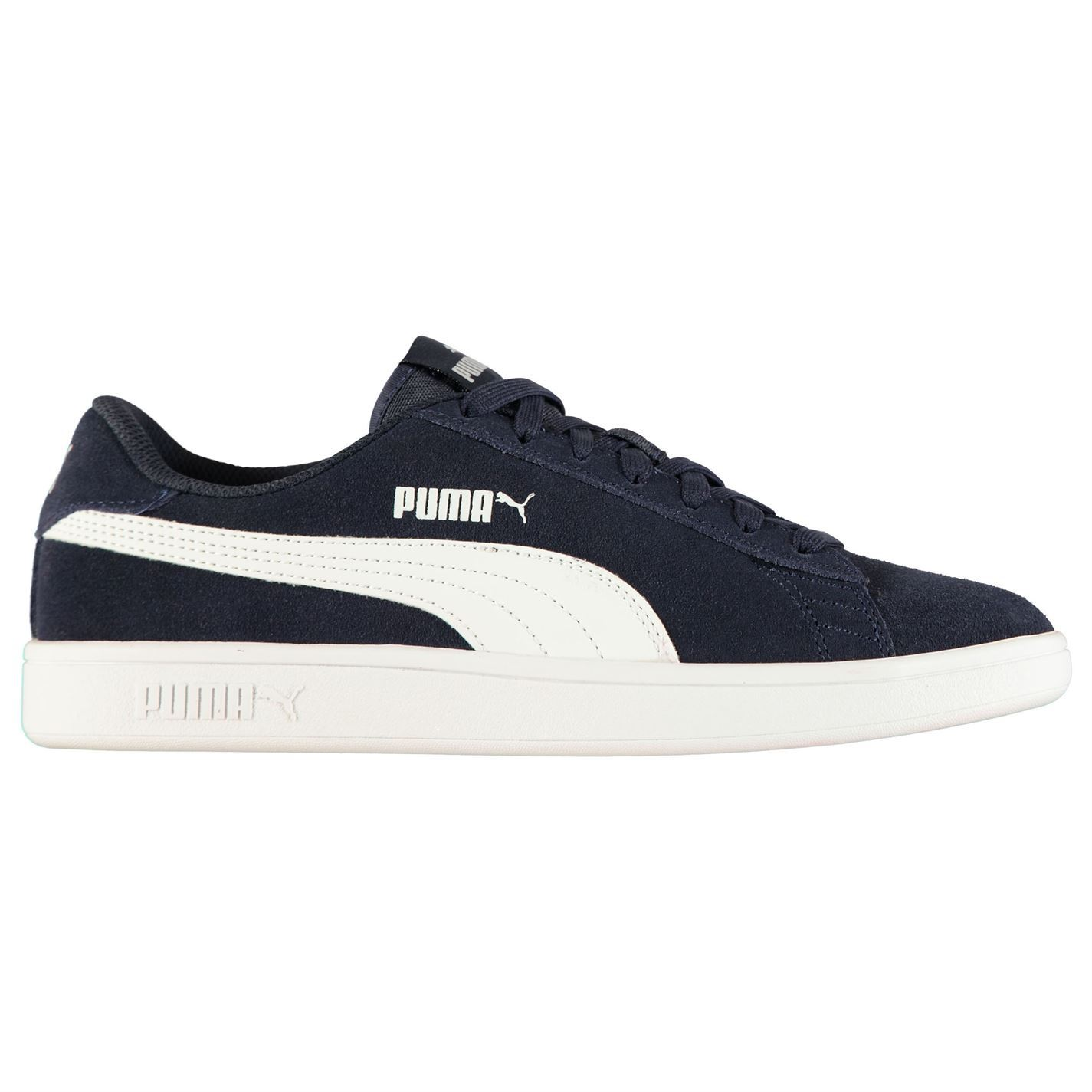 Puma-Smash-V2-Suede-Trainers-Mens-Shoes-Sneakers-Athleisure-Footwear thumbnail 9