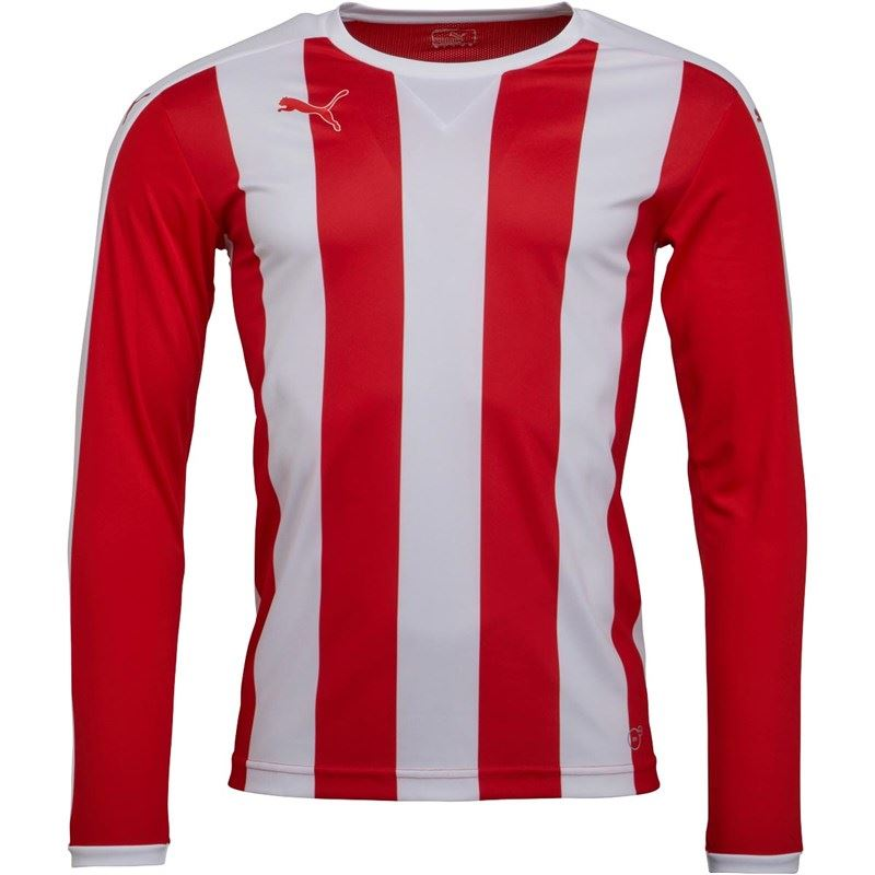 thumbnail 9 - Puma-Long-Sleeve-Football-Shirt-Mens-Soccer-Jersey-Top-T-Shirt