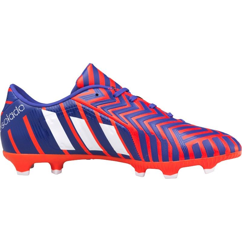 0324ae0eb72b ... Adidas Predator Absolado Instinct FG Firm Ground Football Boots Mens  Red Purple