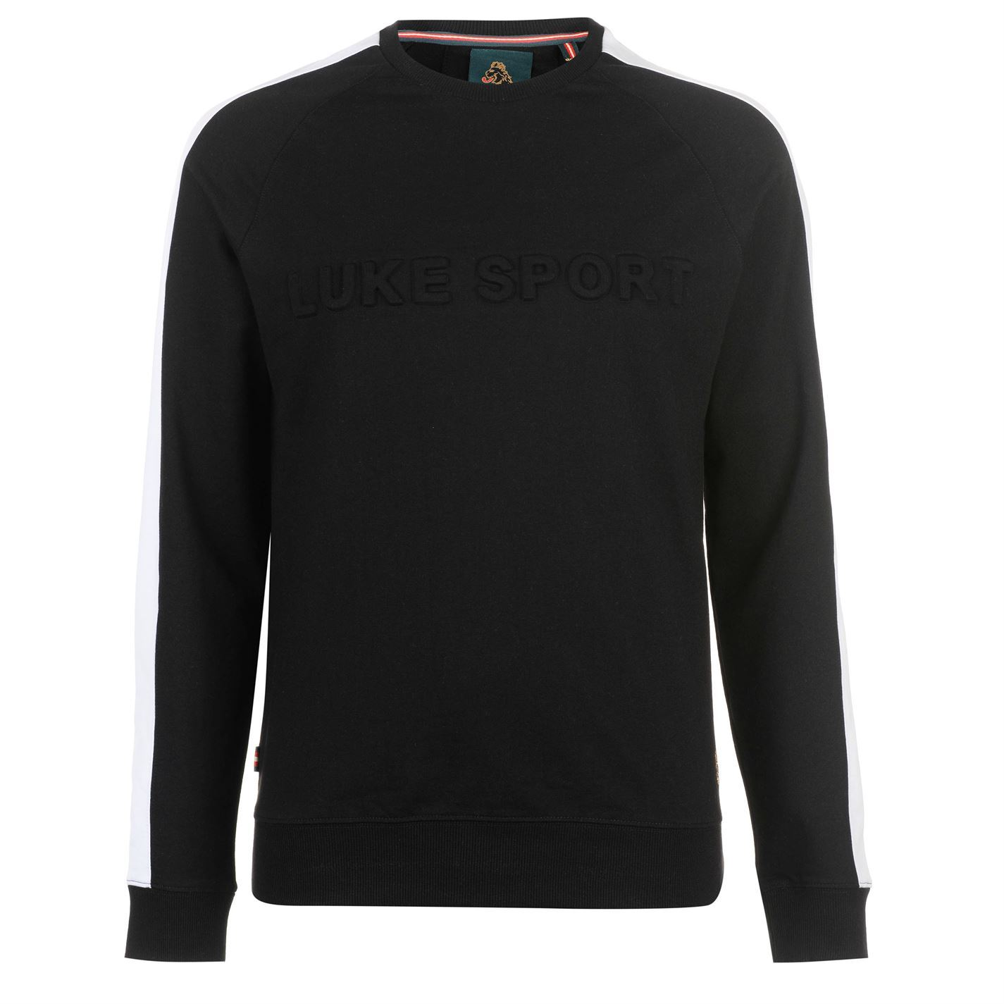 Luke Sport Debossed Sweater Sweatshirt Uomo Sweater Debossed Top Jumper 94d825