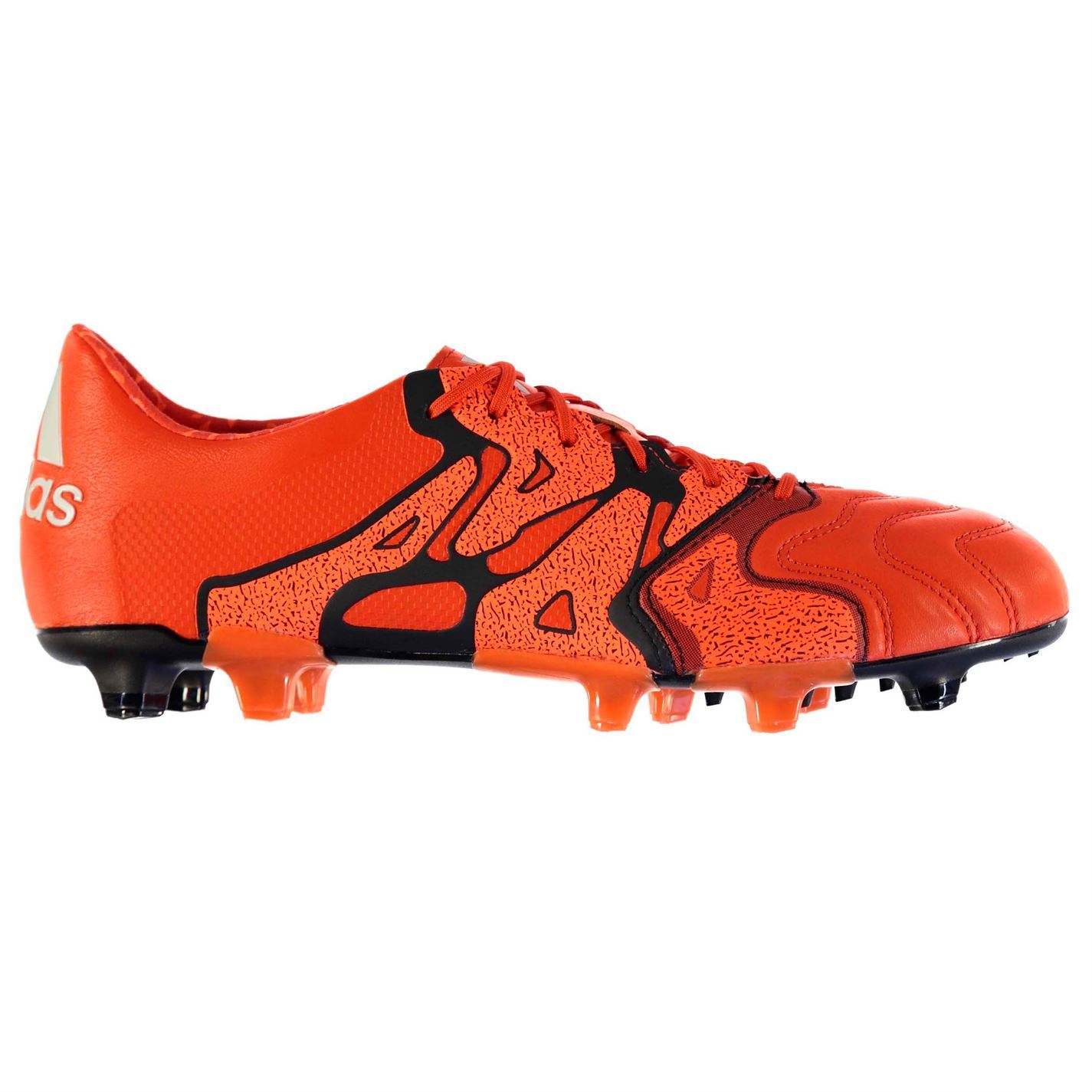6e4969b4085 ... adidas X 15.1 Leather FG Firm Ground Football Boots Mens Or Soccer  Cleats Shoes ...