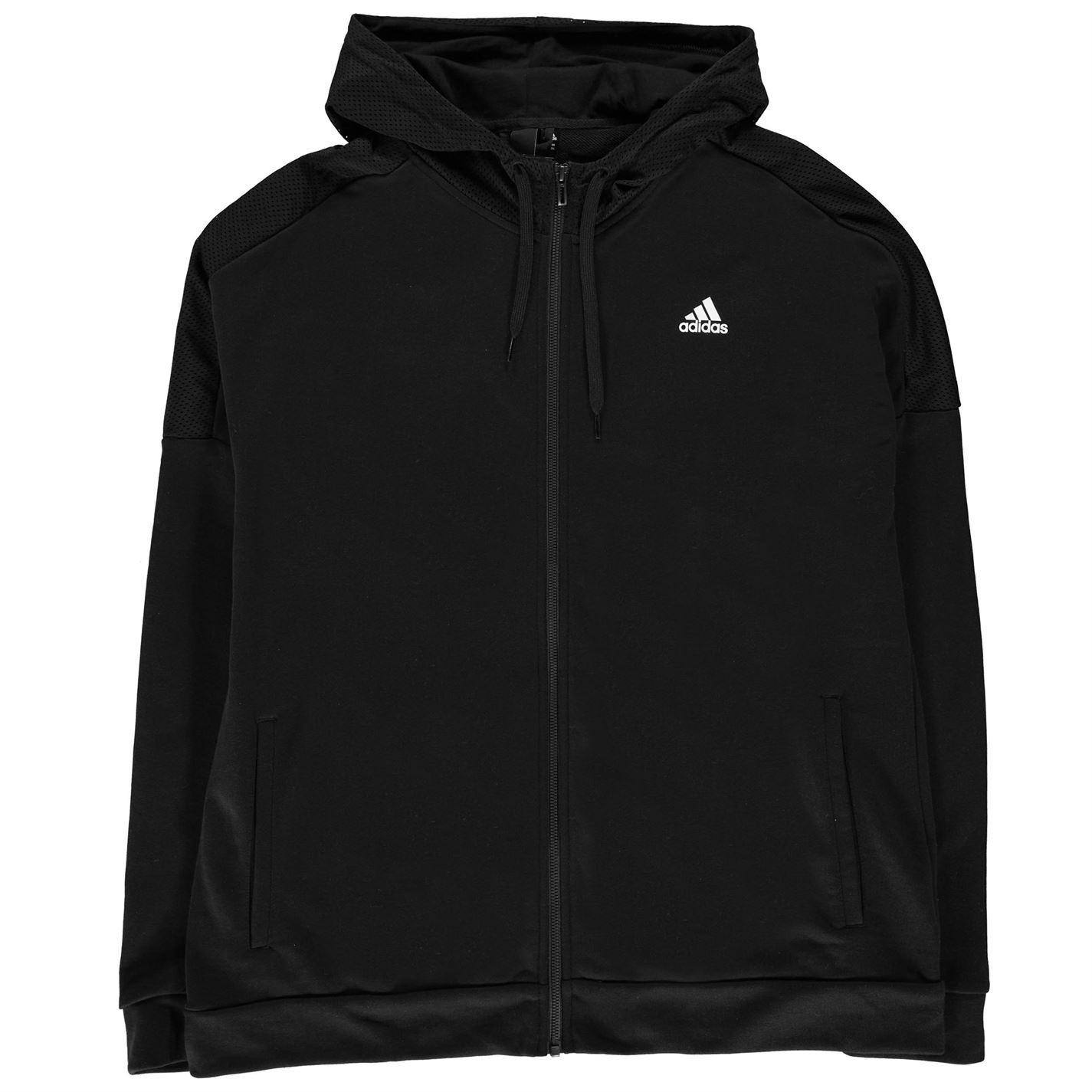 9099aaef98183 ... adidas Sport ID Full Zip Hoody Mens Hoodie Top Sweatshirt Sweater