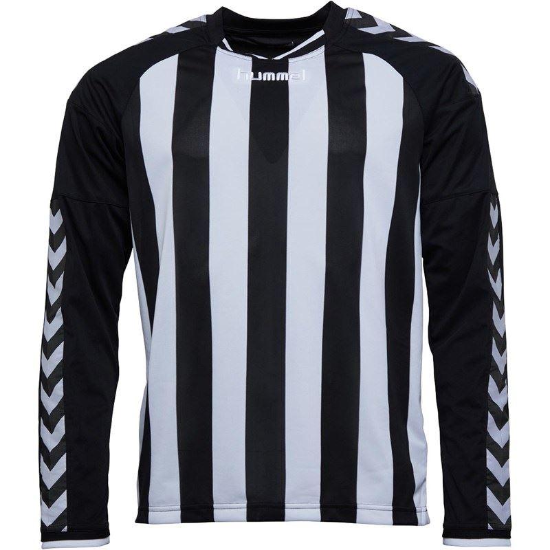 thumbnail 4 - Hummel-Long-Sleeve-Football-Shirt-Mens-Soccer-Jersey-Top-T-Shirt