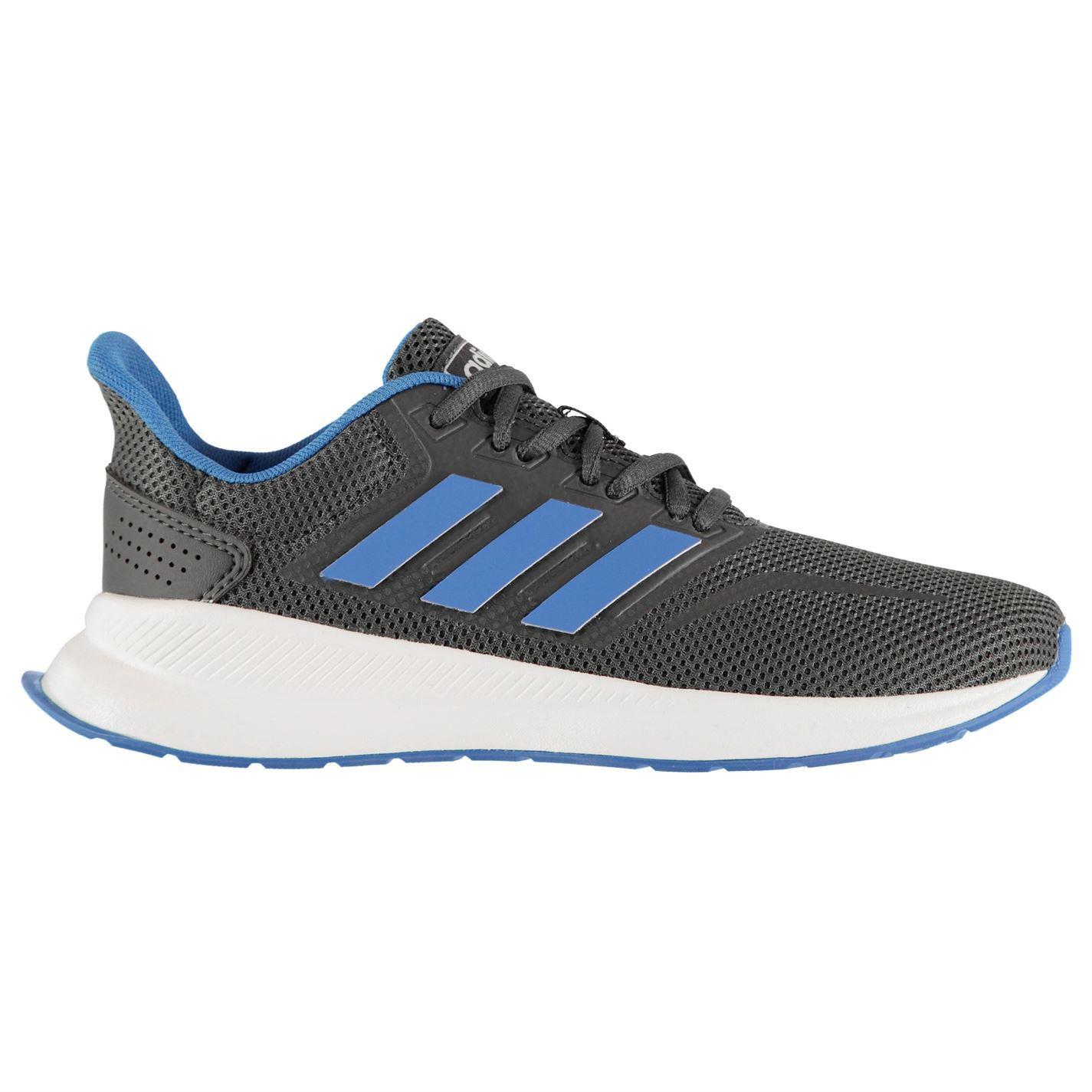 adidas-Falcon-Trainers-Junior-Boys-Shoes-Footwear thumbnail 7
