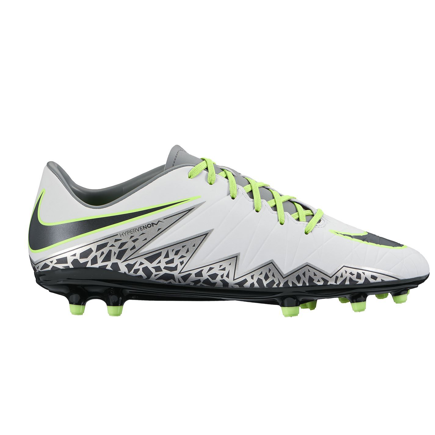... Nike Hypervenom Phelon FG Firm Ground Football Boots Mens Plat/Blk Soccer  Shoes
