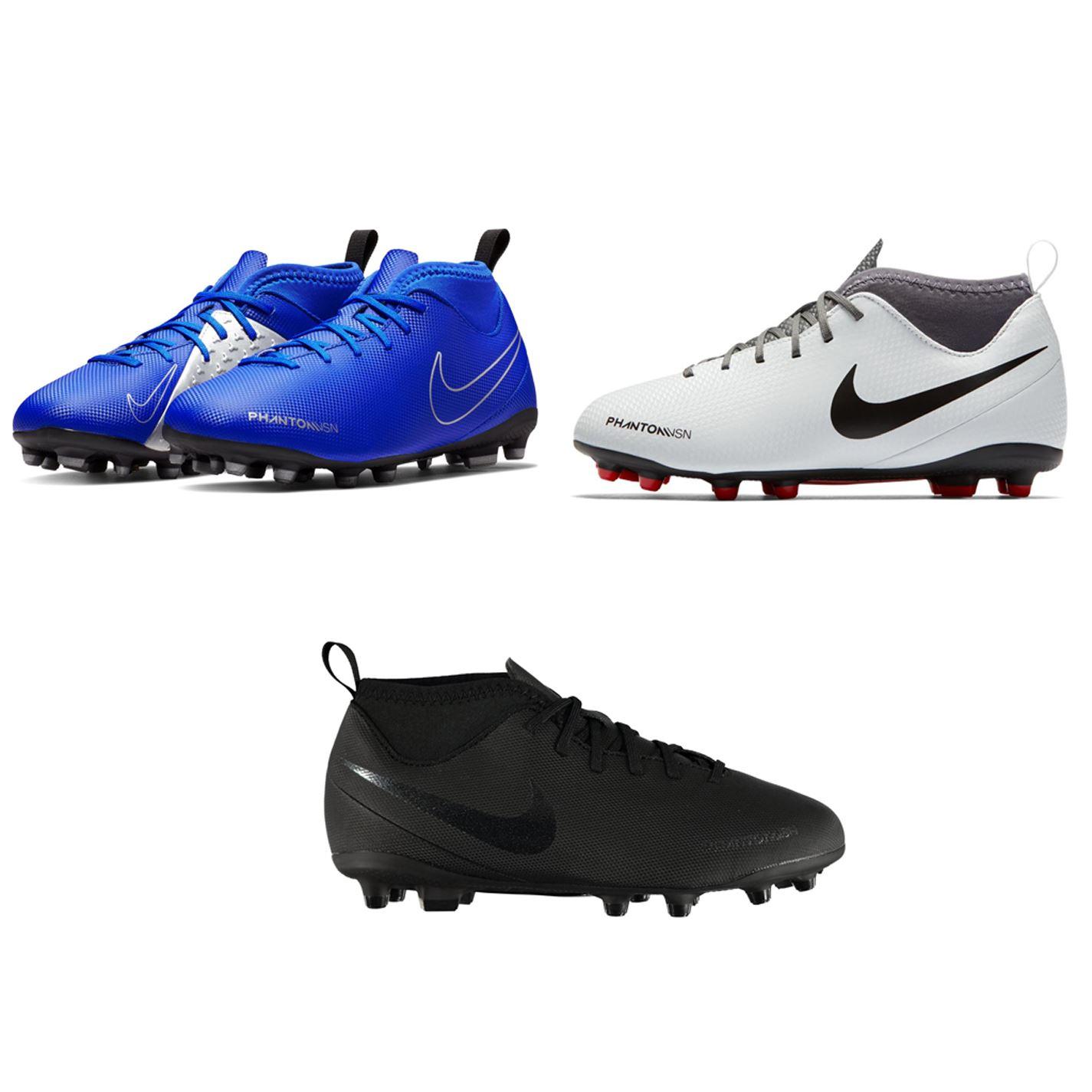 54b42ff52ee ... Nike Phantom Vision Club DF FG Firm Ground Football Boots Juniors  Soccer Cleats ...
