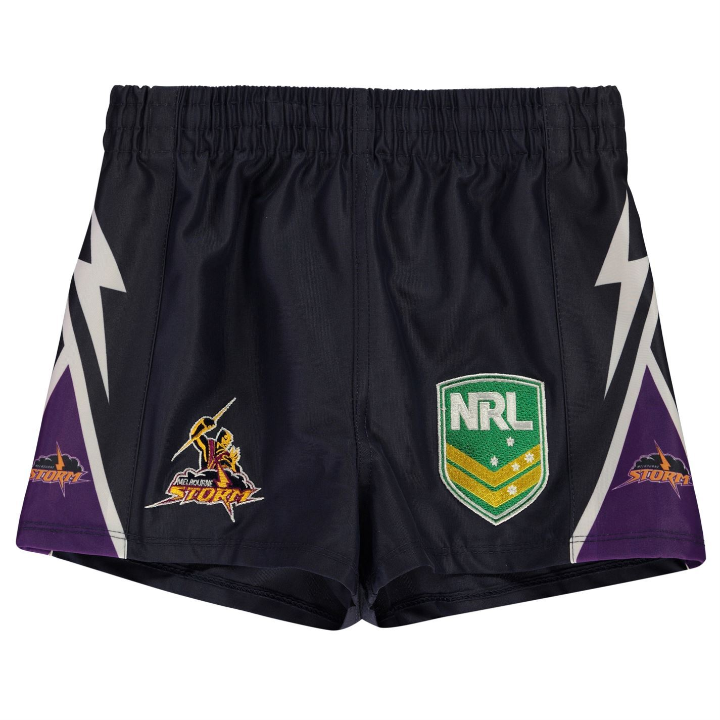 NRL-Supporter-Shorts-Juniors-Rugby-League-Storm-Bulldog-Sea-Eagles-Eels-Roosters thumbnail 6