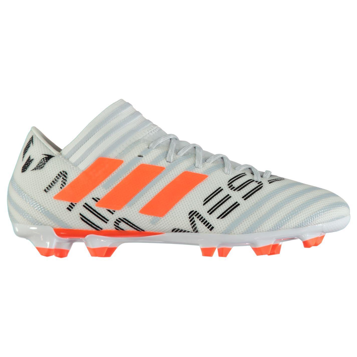55eea443d adidas Nemeziz Messi 17.3 Firm Ground Football Boots Mens White Soccer  Cleats