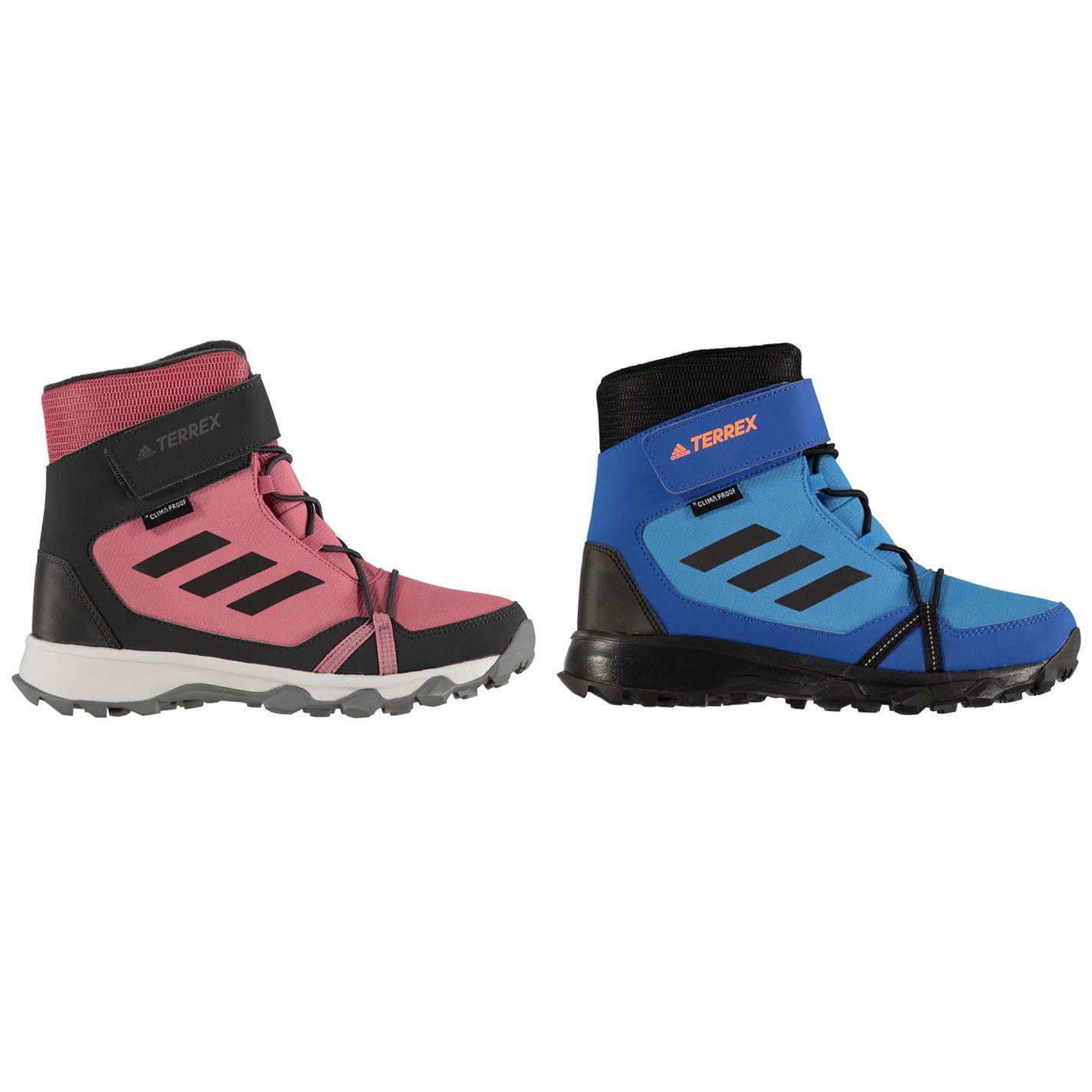 san francisco a5cdd 92cb4 adidas Terrex Junior Boys Snow Boots Boys Insulated Winter Footwear
