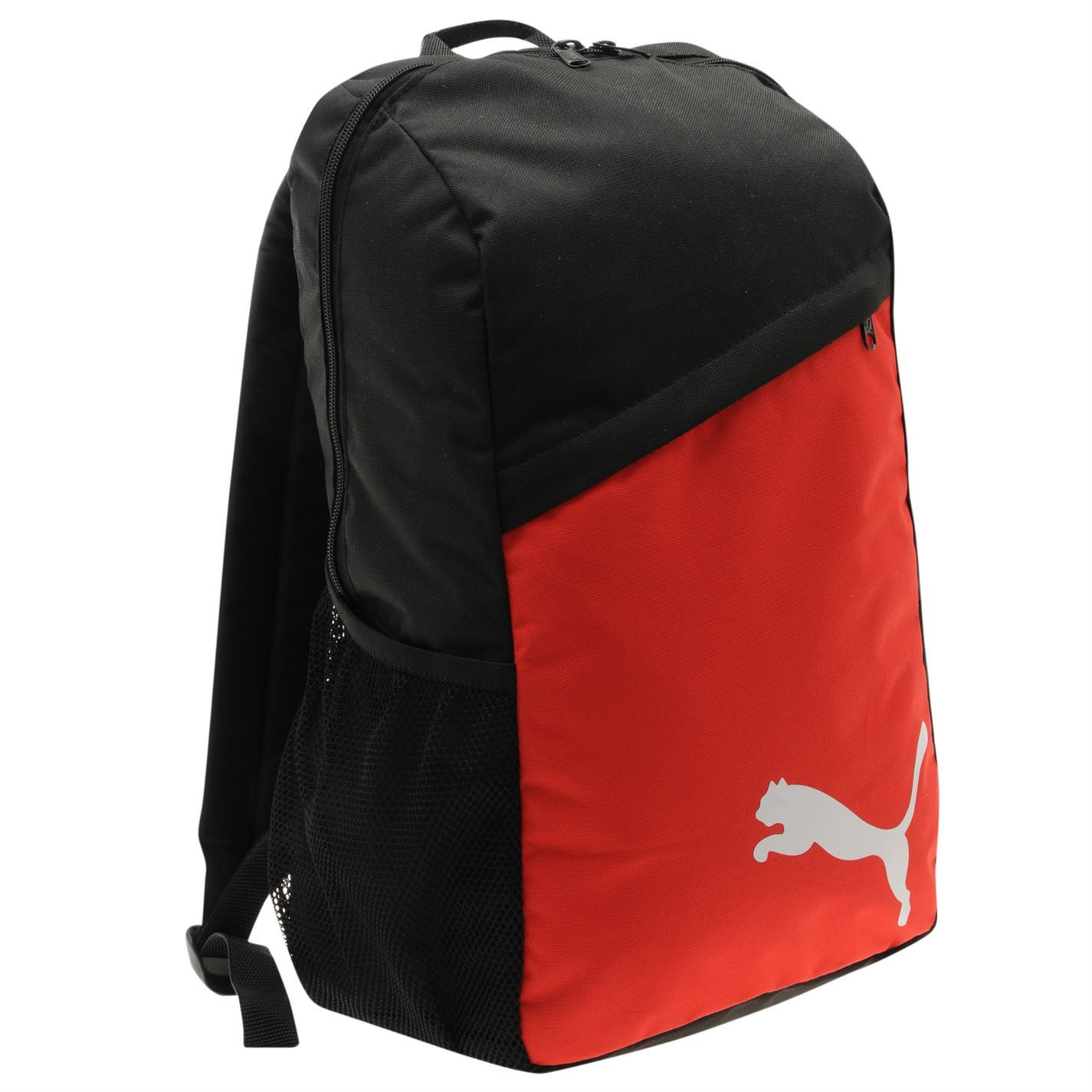 0d8ebde3660 ... Puma Pro Training Backpack Black Red Rucksack Sports Kitbag Travel Bag  ...