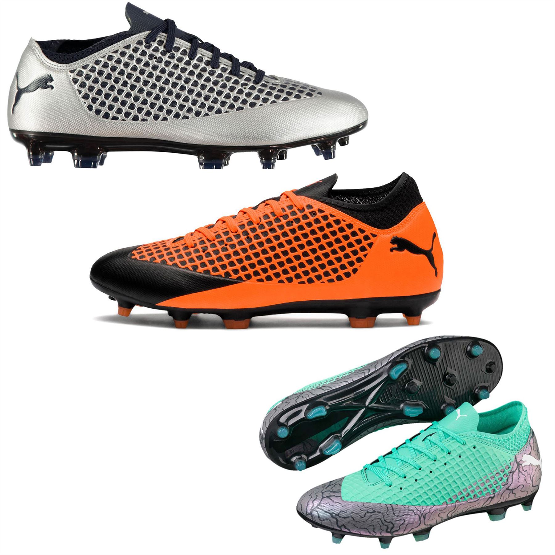 ff9dacdd ... Puma Future 2.4 FG Firm Ground Football Boots Mens Soccer Shoes Cleats  ...