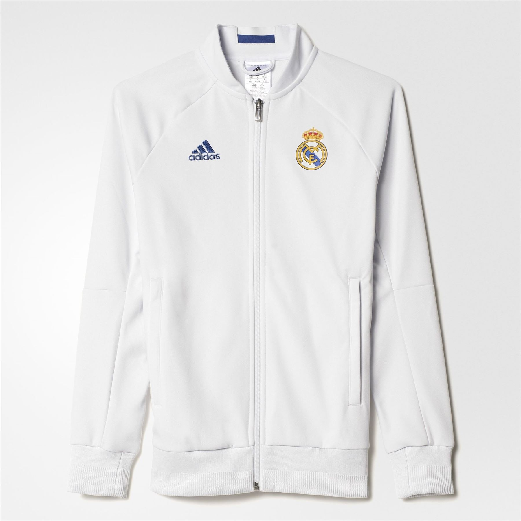 Veste adidas Real Madrid 2016 Blanc | Survetement real