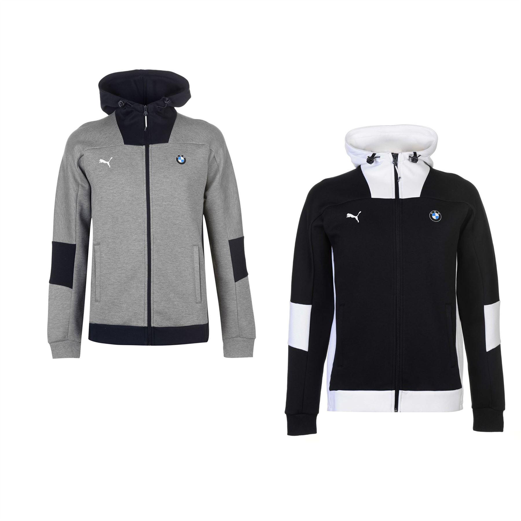 f6ea76d33bf7 ... Puma BMW Motorsport Full Zip Hoody Jacket Mens Hoodie Sweatshirt  Sweater Top ...