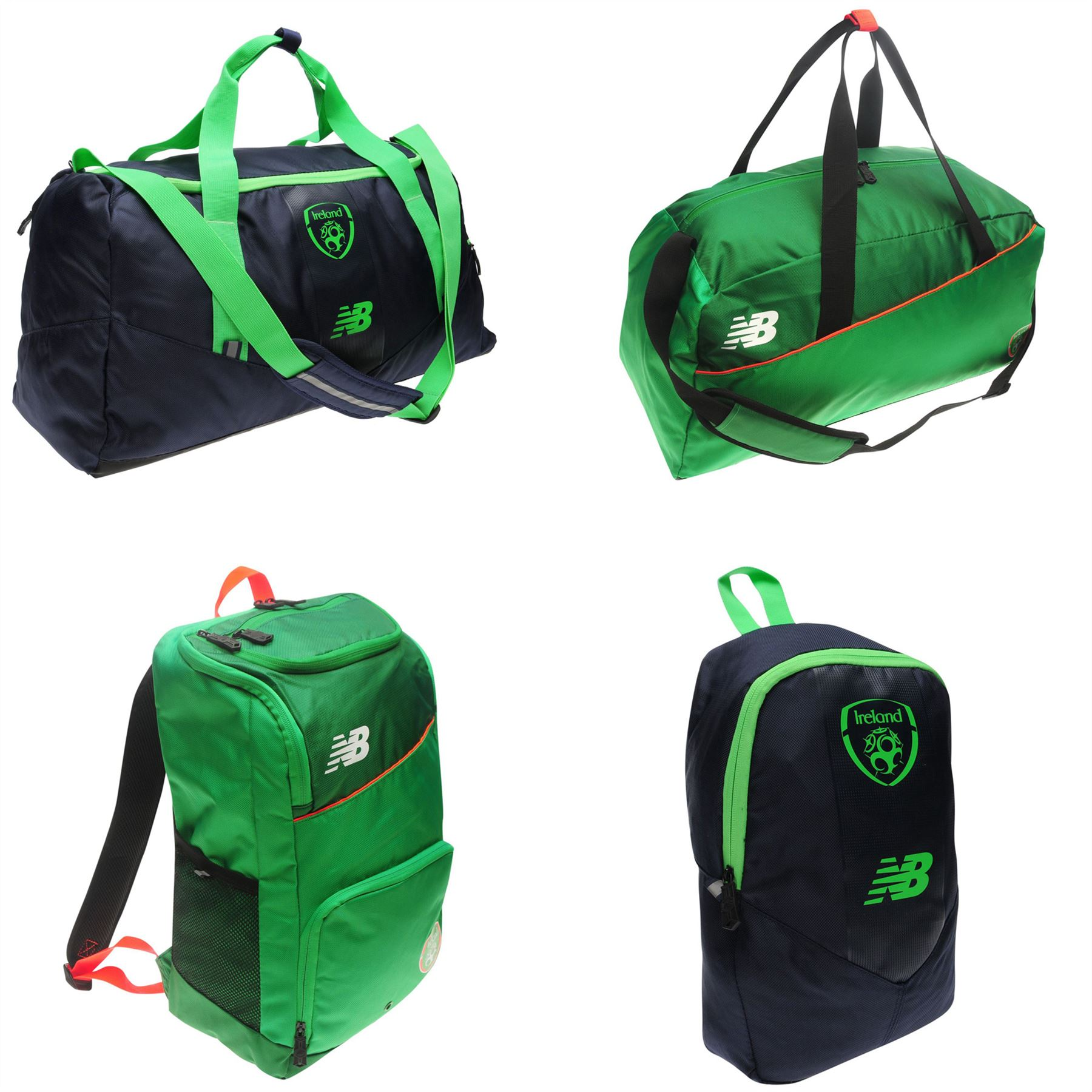 Details about New Balance Ireland Football Bags Holdall Backpack Bootbag  Rucksack Backpack 0f0f63e5a430a