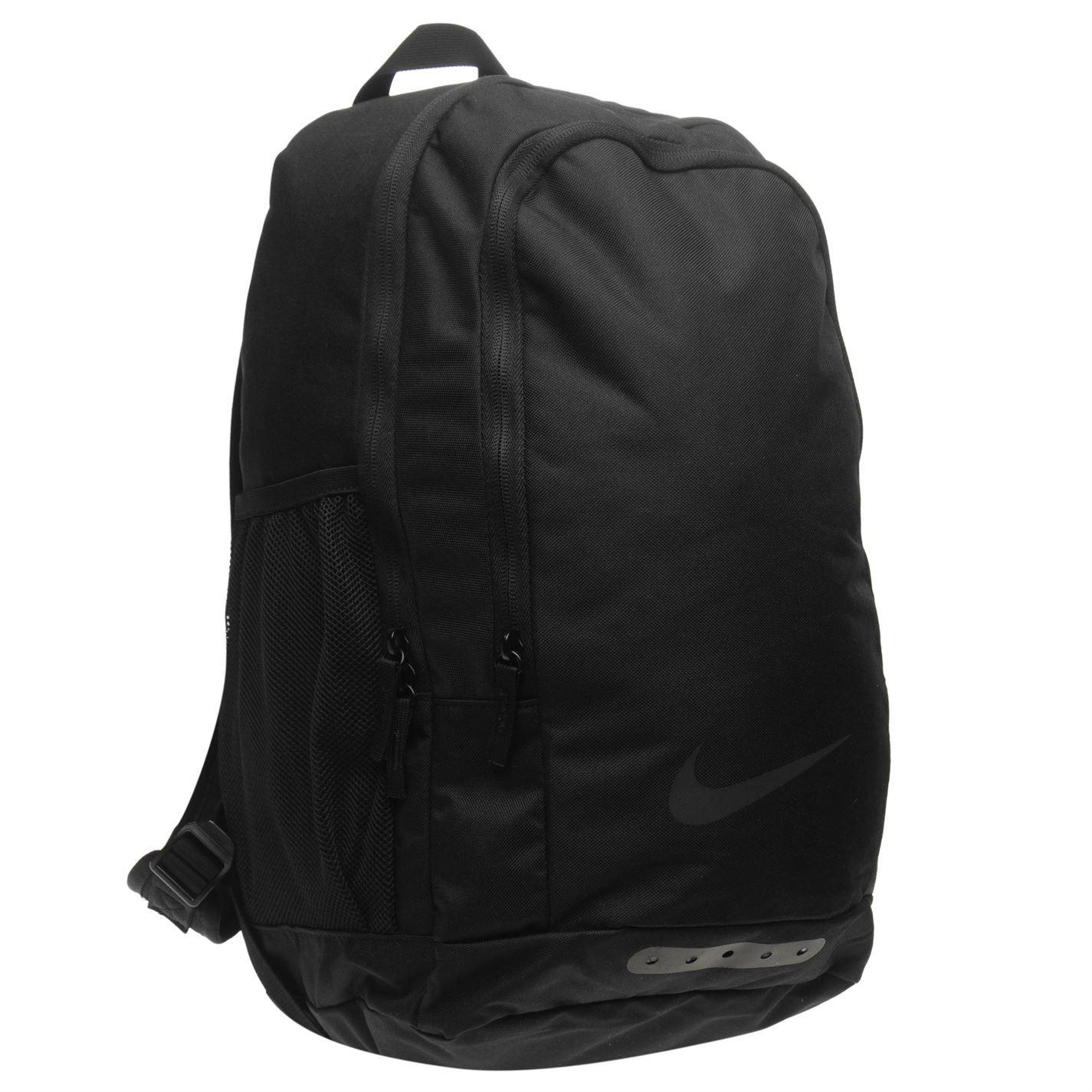 Nike Academy Backpack Black Sports Gym Bag Rucksack Carryall