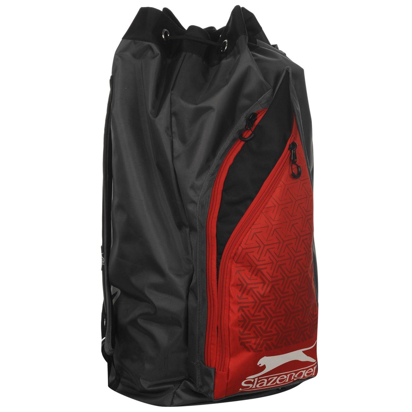 5c9b5f8550 ... Slazenger V-Series Cricket Duffle Bag Charcoal Duffel Sport Kit Holdall  Carryall ...