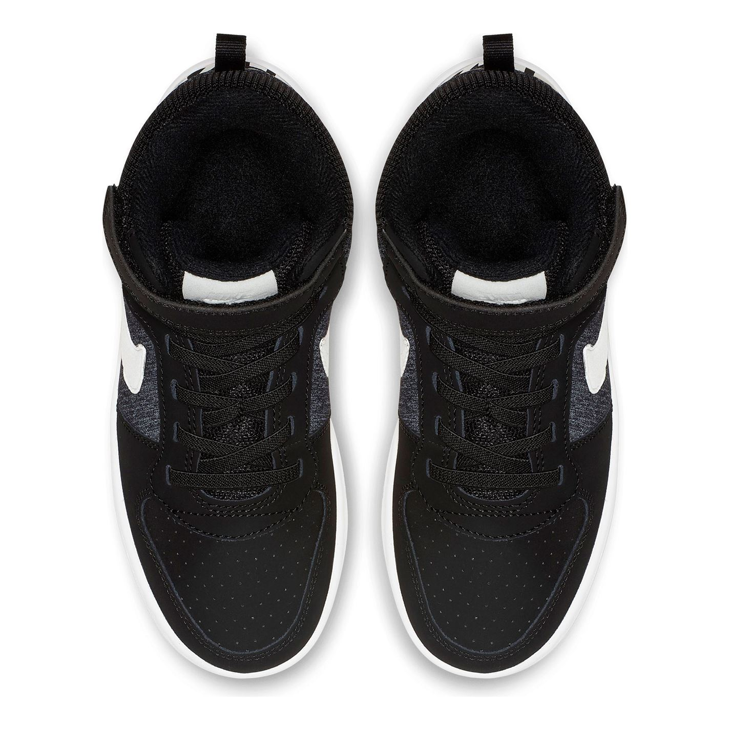 uk availability 30312 a28d0 ... Nike Court Borough Mid SE Child Boys Trainers Black Shoes Footwear
