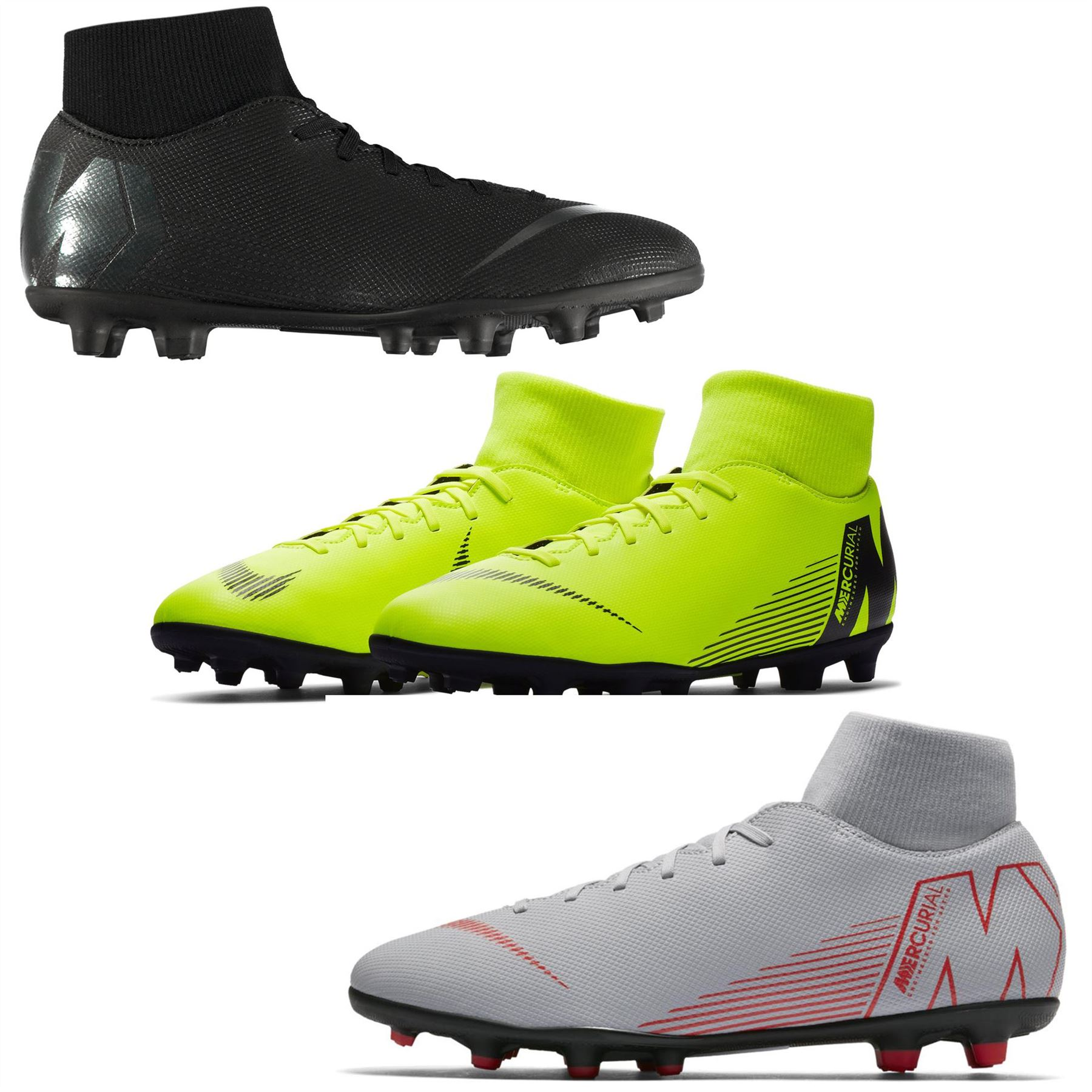 newest 914d8 1d862 Nike Mercurial Superfly Club DF FG Firm Ground Football ...
