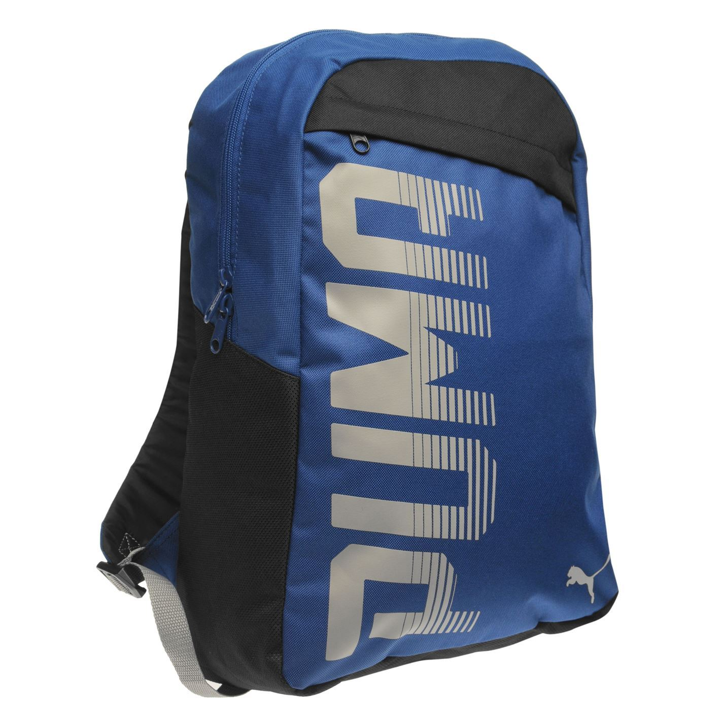 3d20009389 Details about Puma Pioneer Backpack Blue Sports Bag Holdall Rucksack