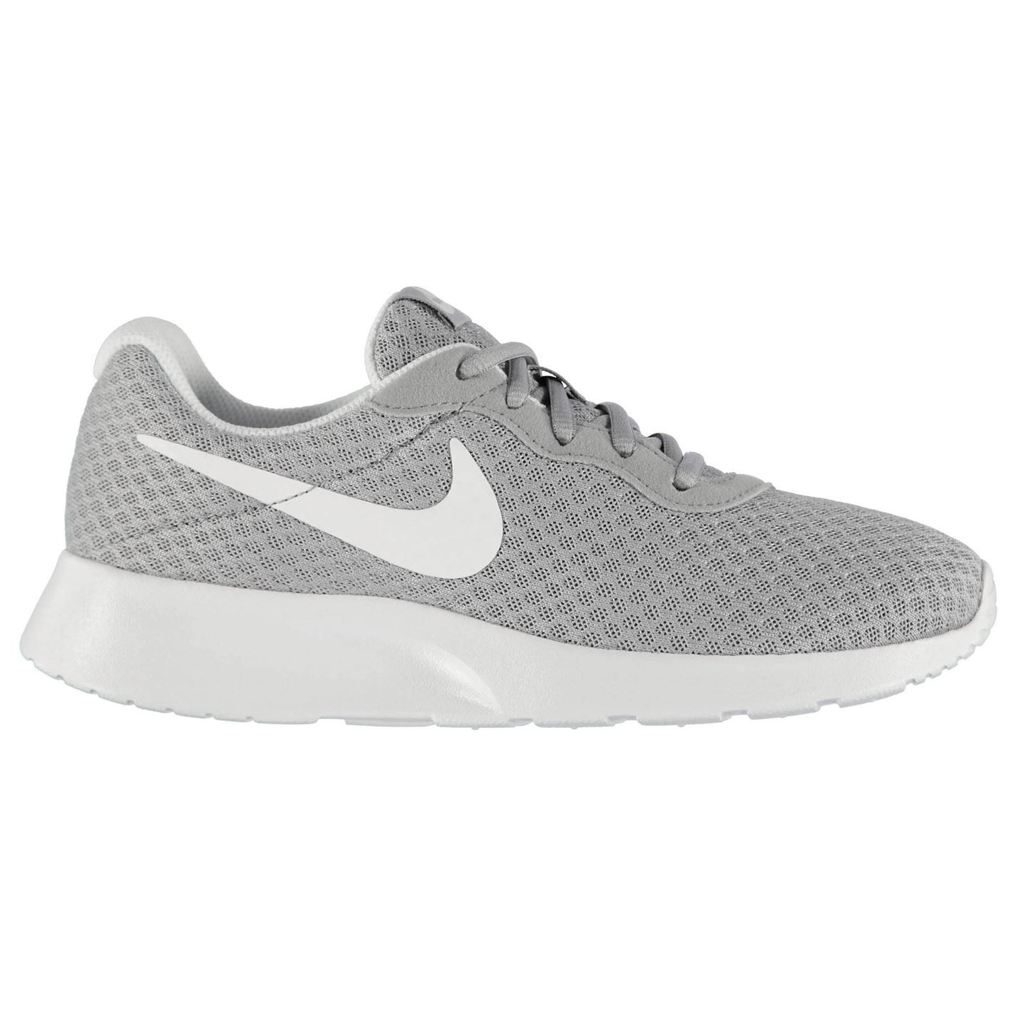 Details about Nike Tanjun Training Shoes Womens Grey White Gym Fitness  Trainers Sneakers a3add839c95