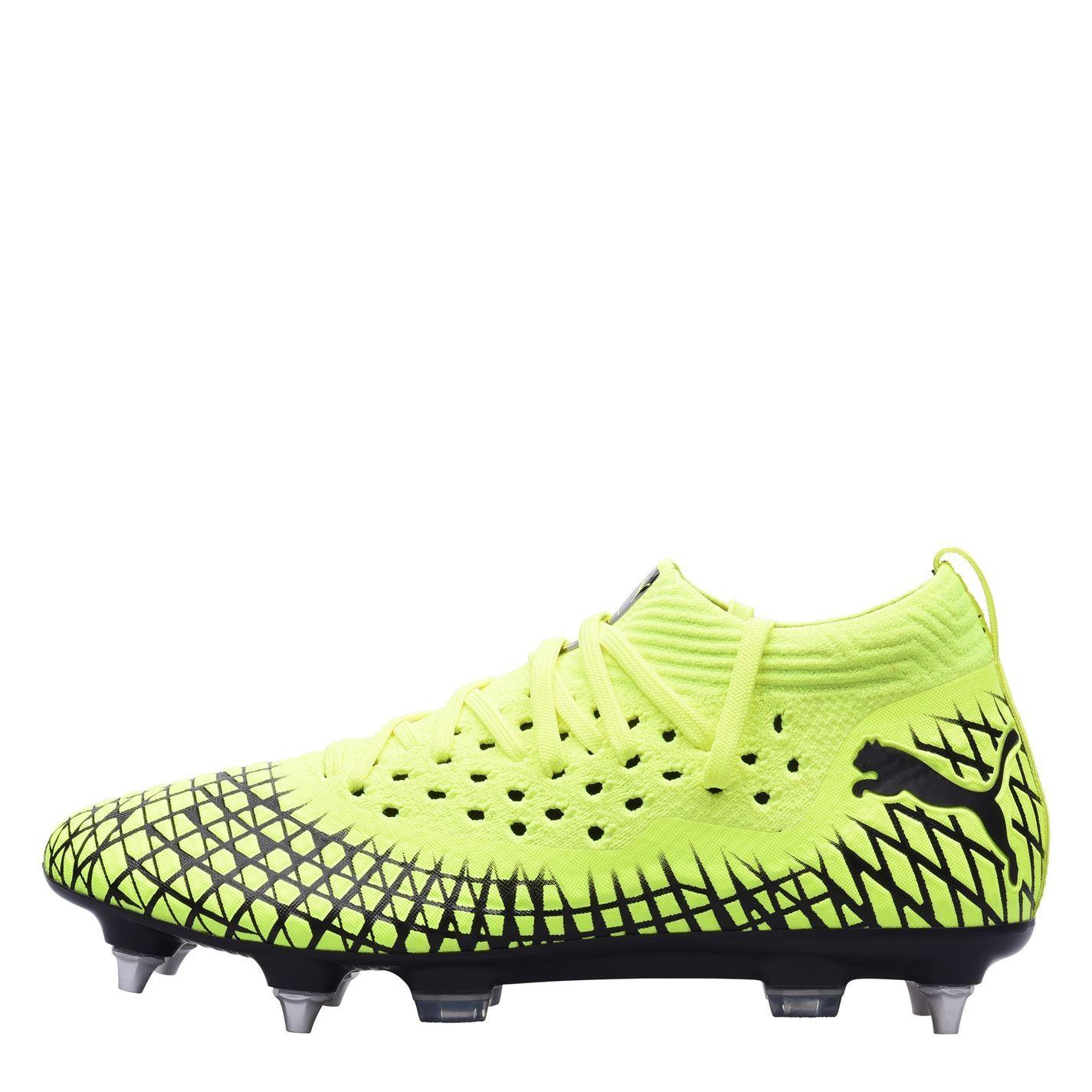 miniature 15 - Puma-Future-4-2-Homme-netfit-FG-Firm-Ground-Chaussures-De-Football-Chaussures-de-foot-crampons
