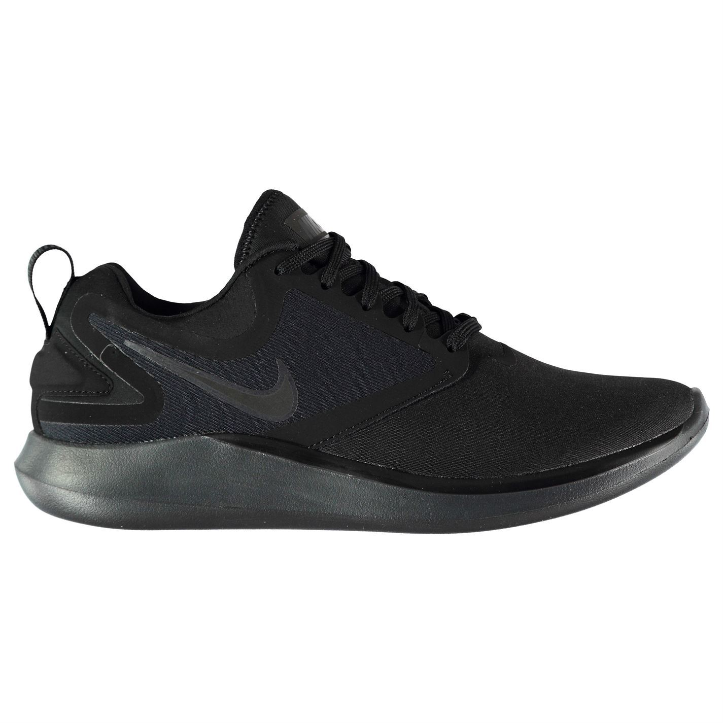 04c52d68567b ... Nike Lunar Solo Running Shoes Mens Black Jogging Trainers Sneakers ...