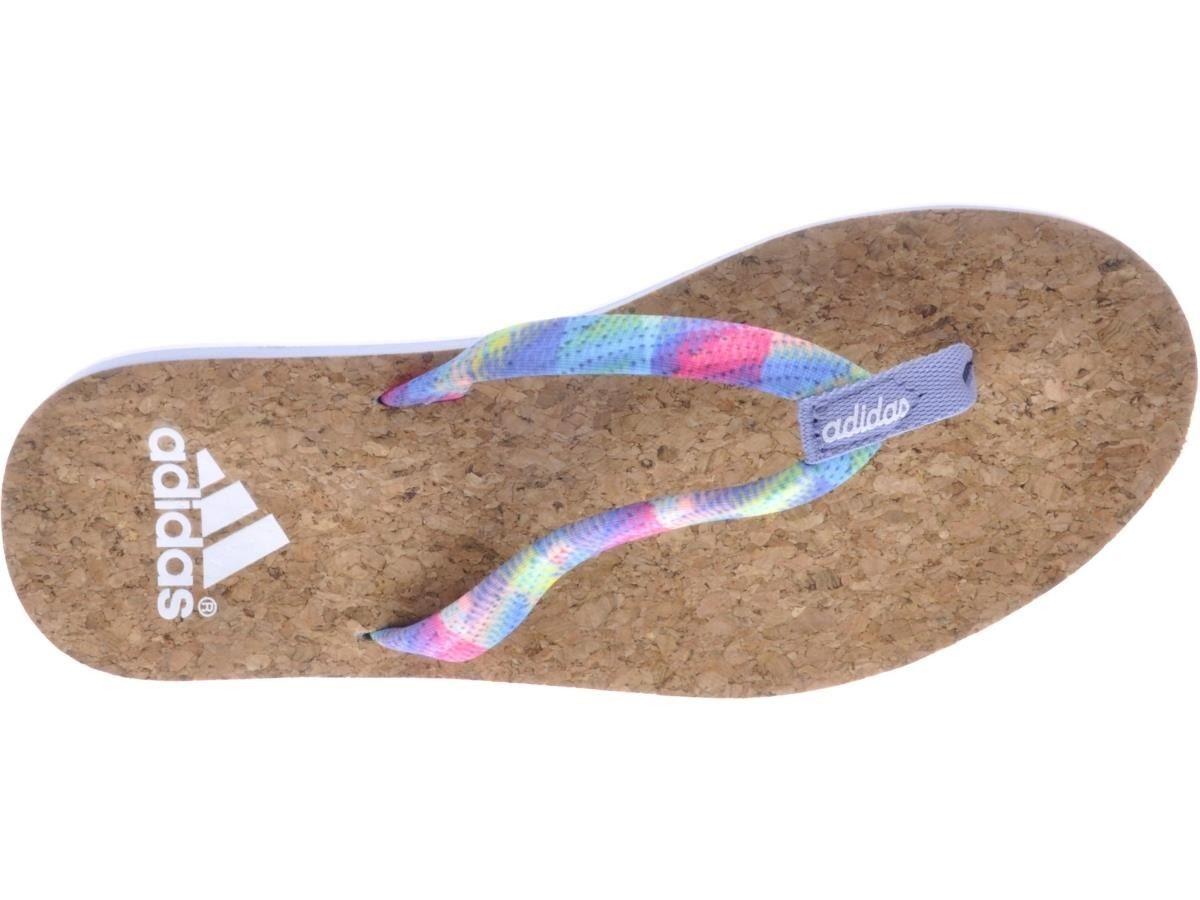 02bda30de6a8 ... adidas Mahilo Woven Flip Flops Womens Cork Sandals Thongs Pool Shoe  Beach Shoes ...