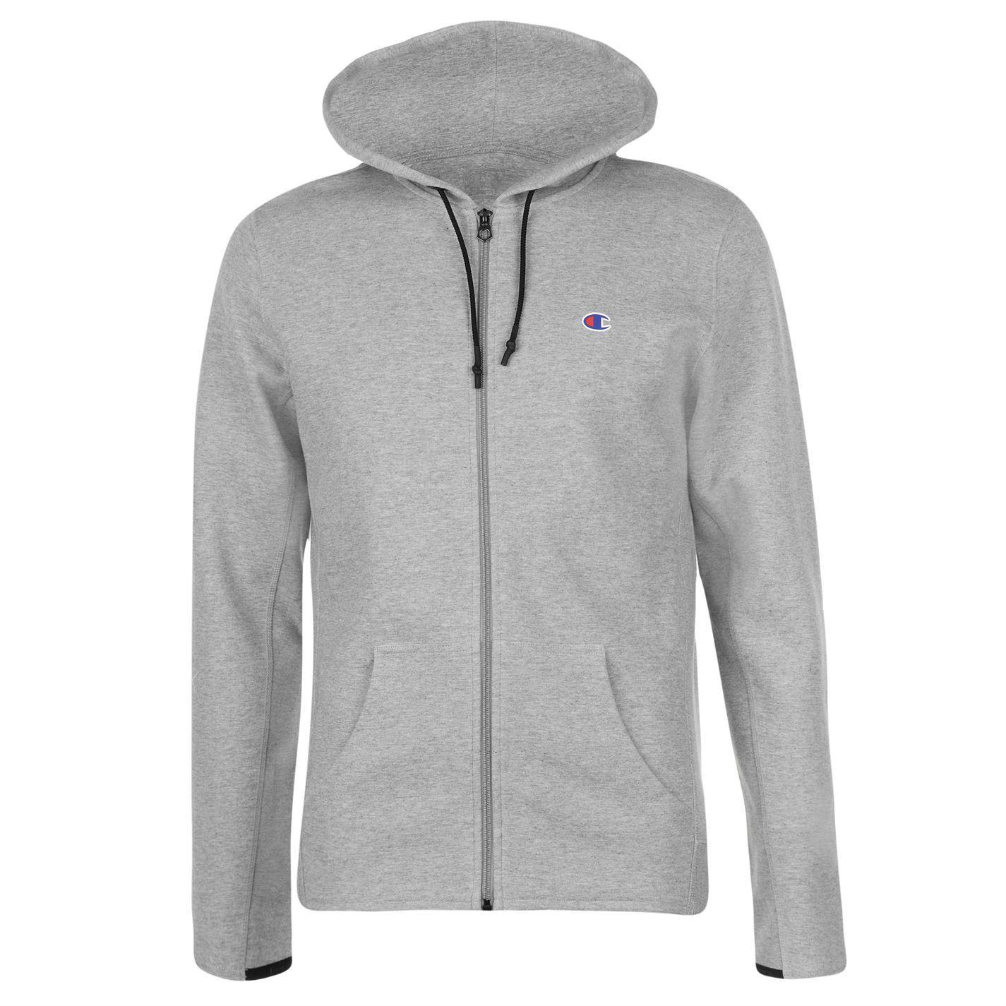 Champion-Interlock-Full-Zip-Hoody-Mens-Hoodie-Top-Sweatshirt-Sweater thumbnail 9