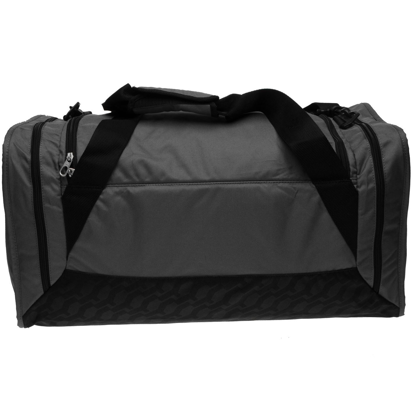 ... Nike Brasilia Medium Sports Holdall Grey Gym Kit Bag Carryall 8d0fa5f4224f3