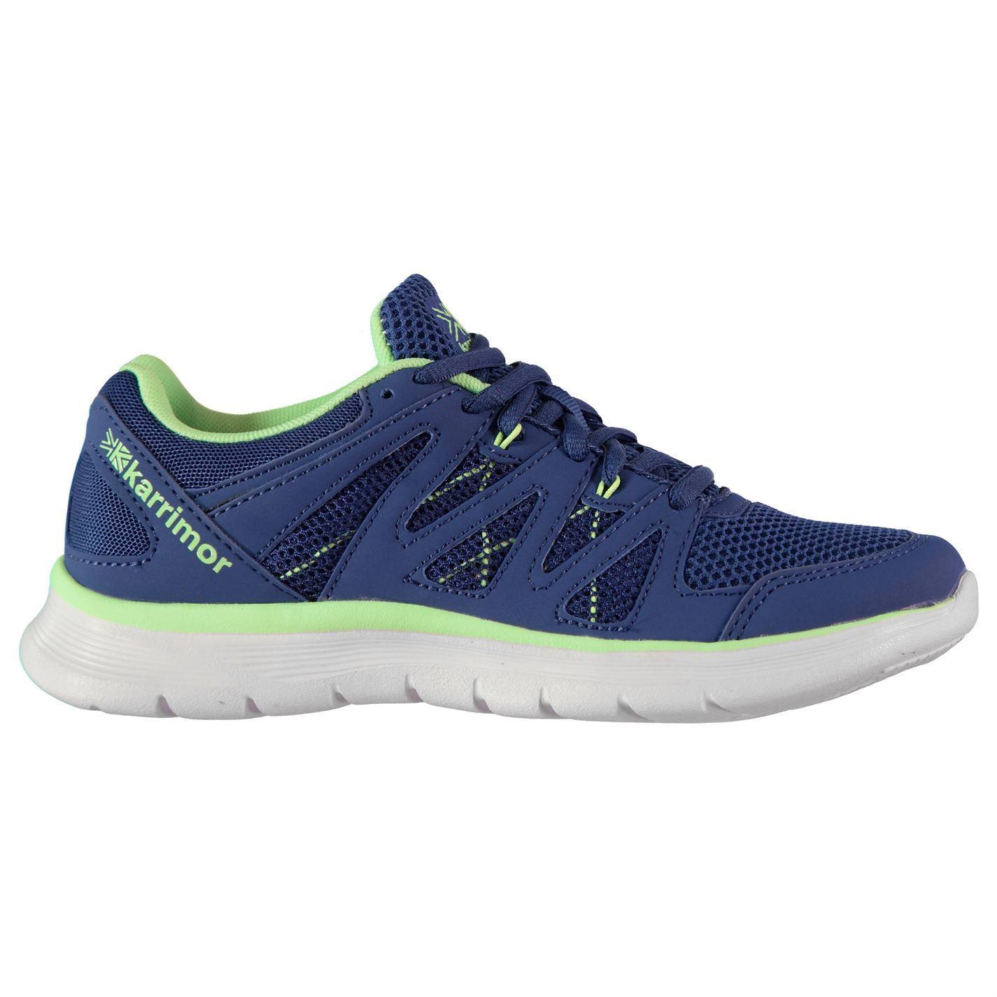 Kids Girls Karrimor Duma Junior Running Shoes Runners Breathable New