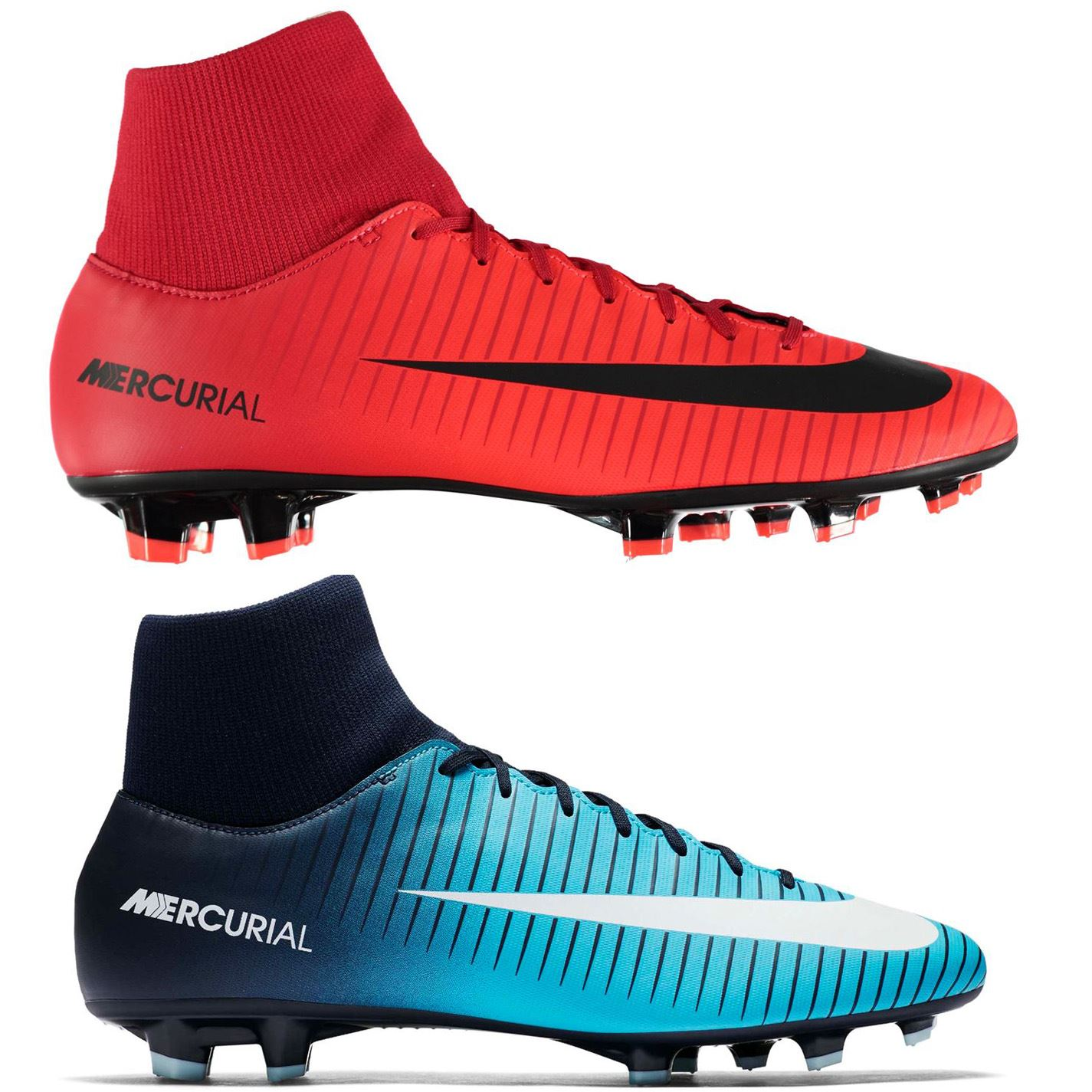 6c56b1fa9934 Nike Mercurial Victory DF FG Firm Ground Football Boots Mens Soccer Shoe  Cleats