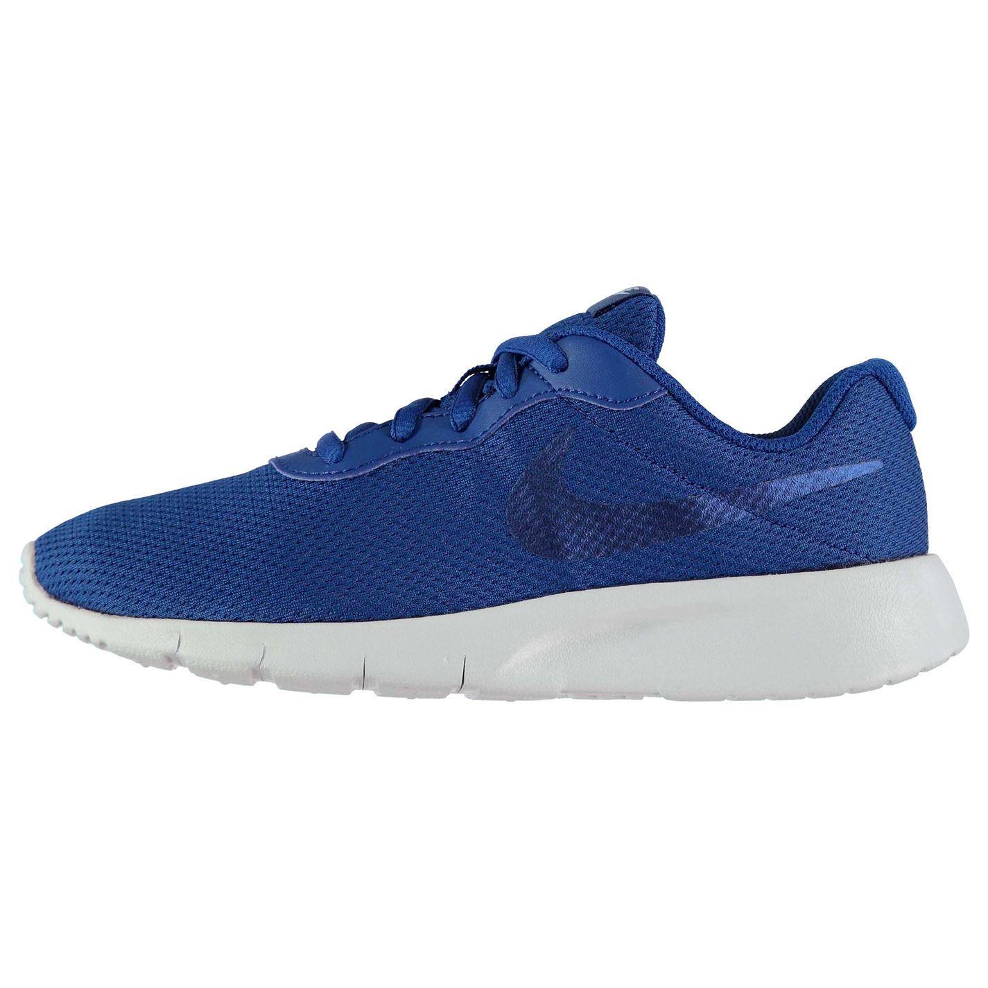 factory authentic 891cf e72dd ... Nike Tanjun Boys Trainers Blue Shoes Footwear ...