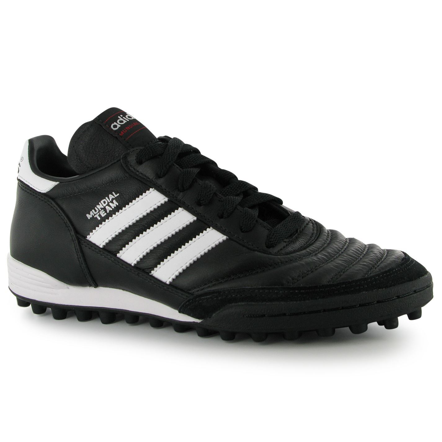 Details about Adidas Mundial Team Mens Astro Turf Trainer Blk/Wht Football  Soccer Boots
