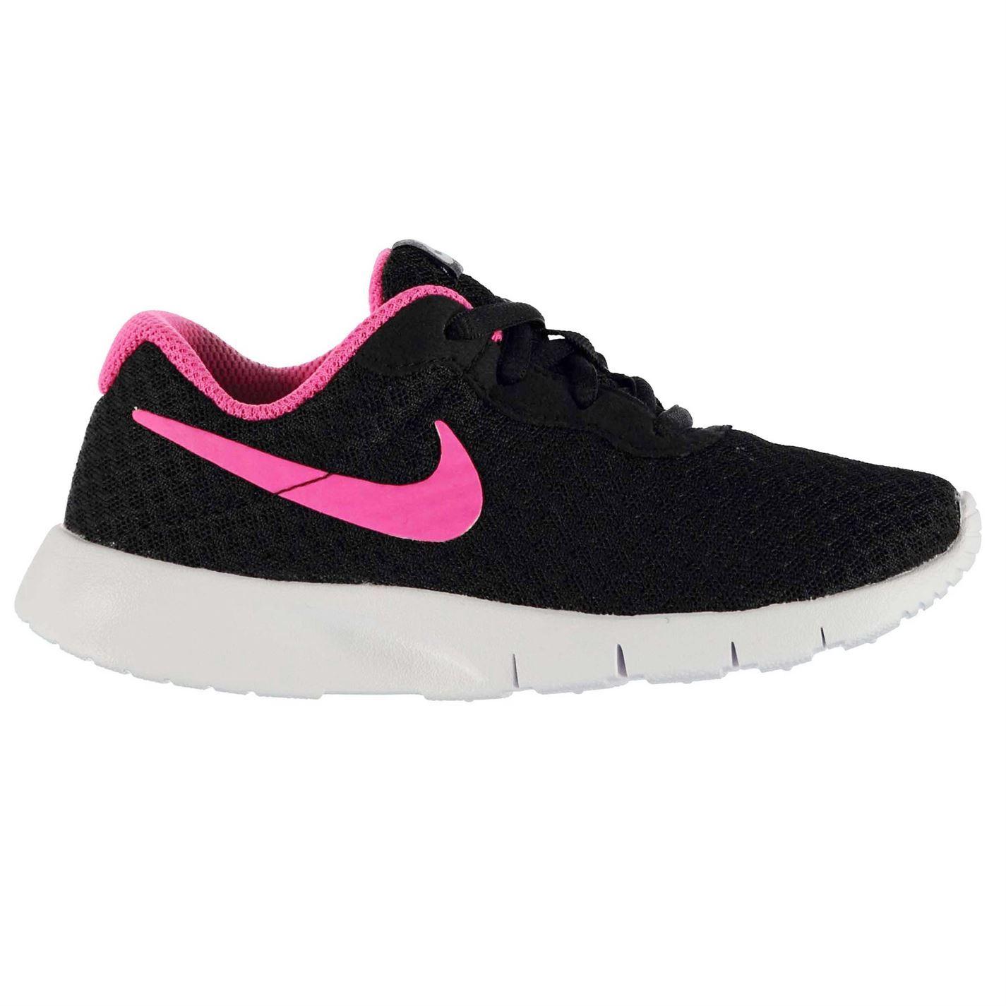 Nike Noir Et Rose Formateurs