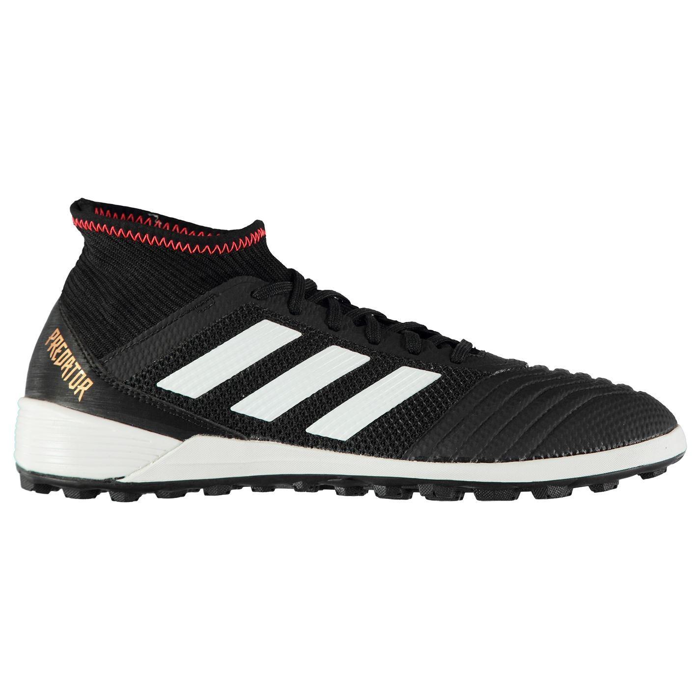43e4fc99c ... adidas Predator Tango 18.3 Astro Turf Football Trainers Mens Soccer  Shoes Black ...
