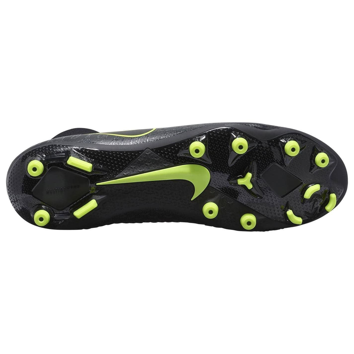 Dettagli su Nike Phantom Visione Accademia Df Fg Scarpe da Calcio Uomo NeroGiallo