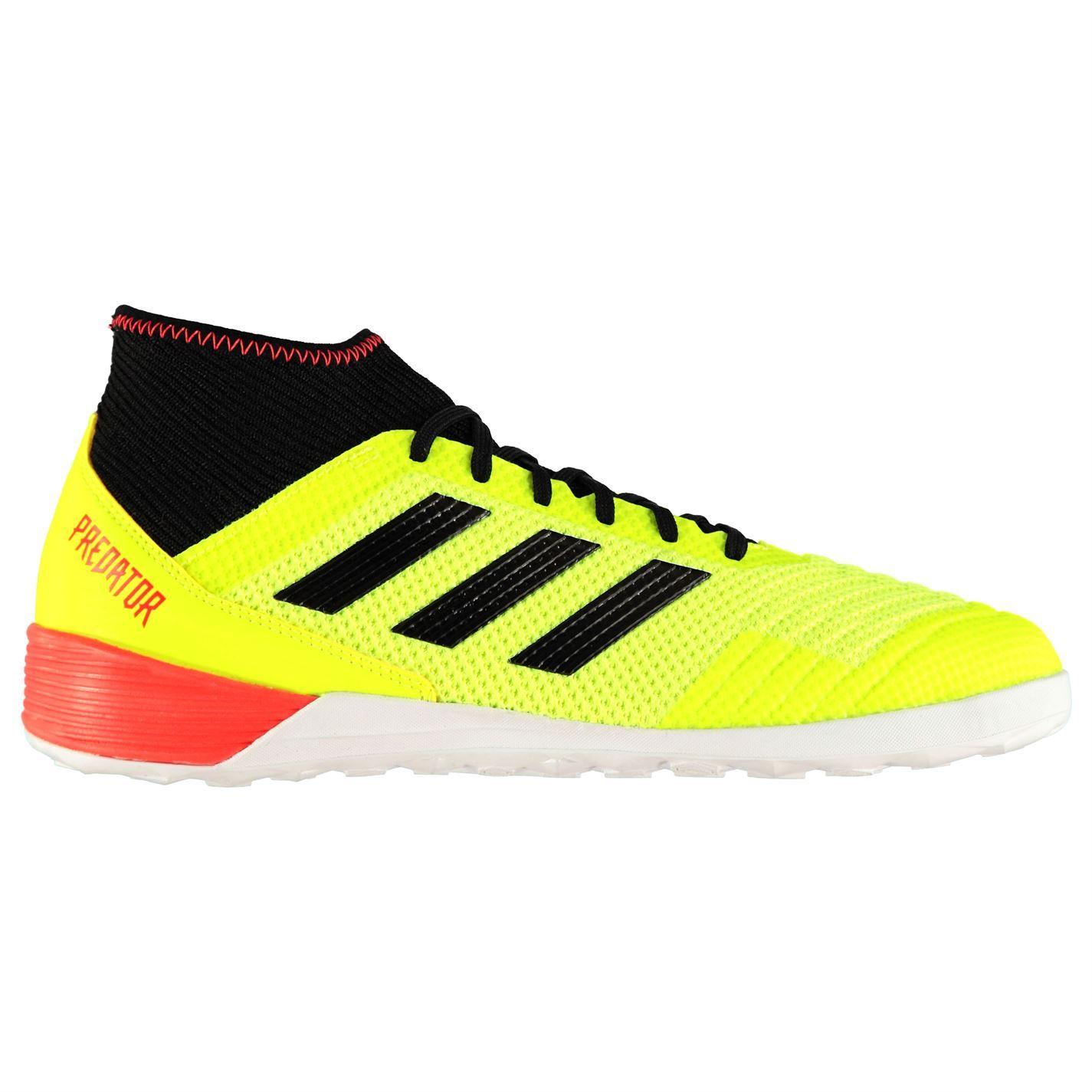 660f5f23837acb ... adidas Predator Tango 18.3 Indoor Football Trainers Mens Yellow Soccer  Shoes ...