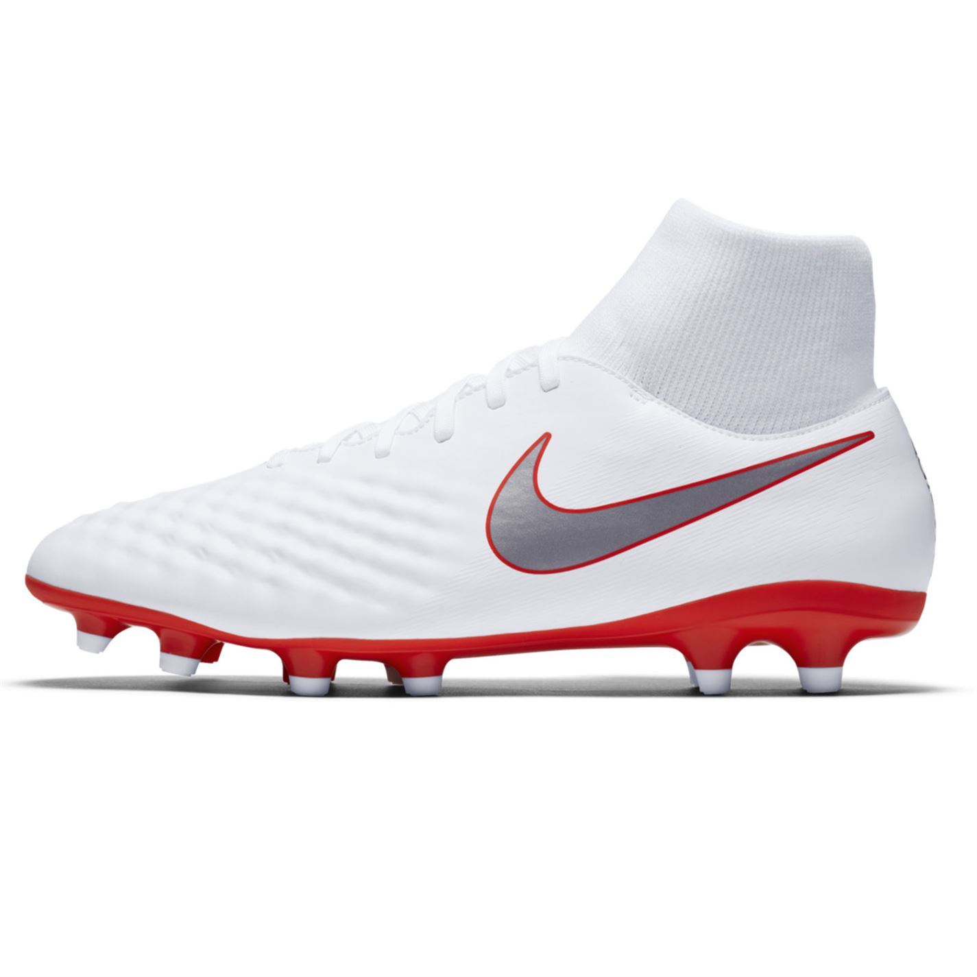 tout neuf 98d26 021a7 Details about Nike Magista Obra Academy DF Firm Ground Football Boots Mens  White Soccer Cleats