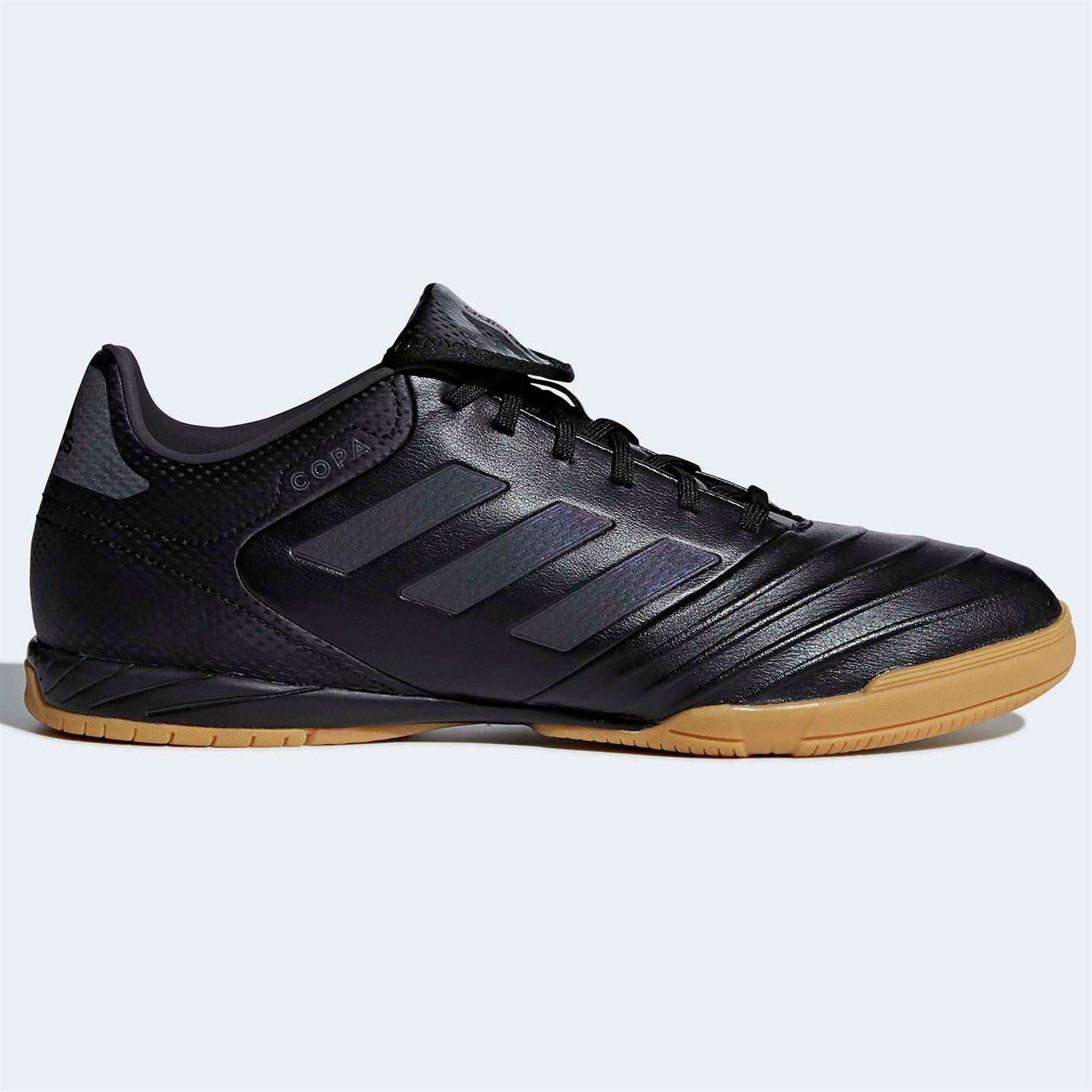 7e6580ae9113 ... adidas Copa Tango 18.3 Indoor Football Trainers Mens Black Soccer  Futsal Shoes ...